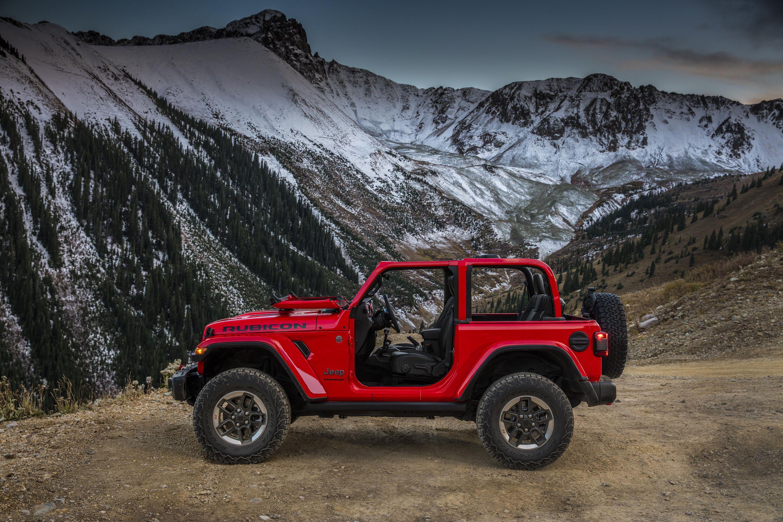 The 2018 Jeep Wrangler.