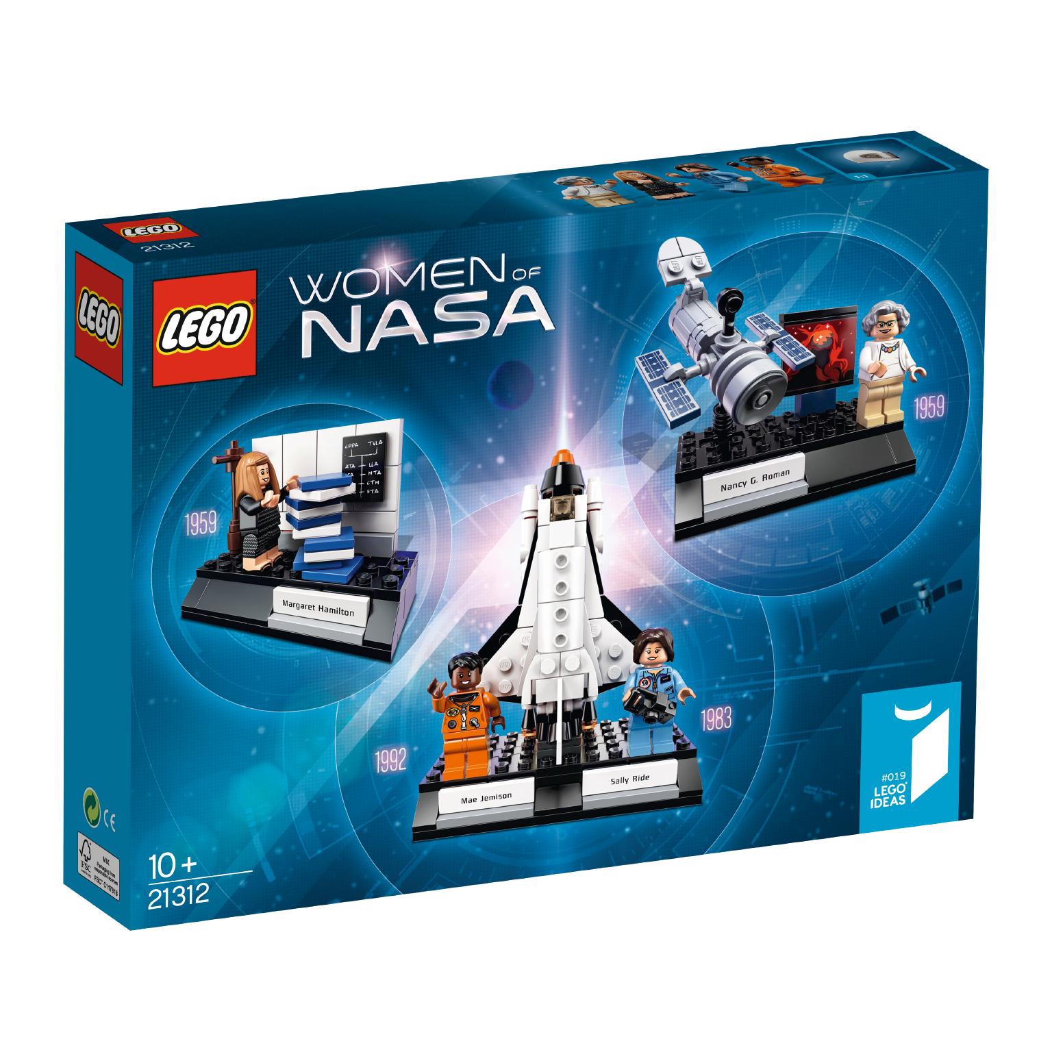 "LEGO's ""Women of NASA"" Box."