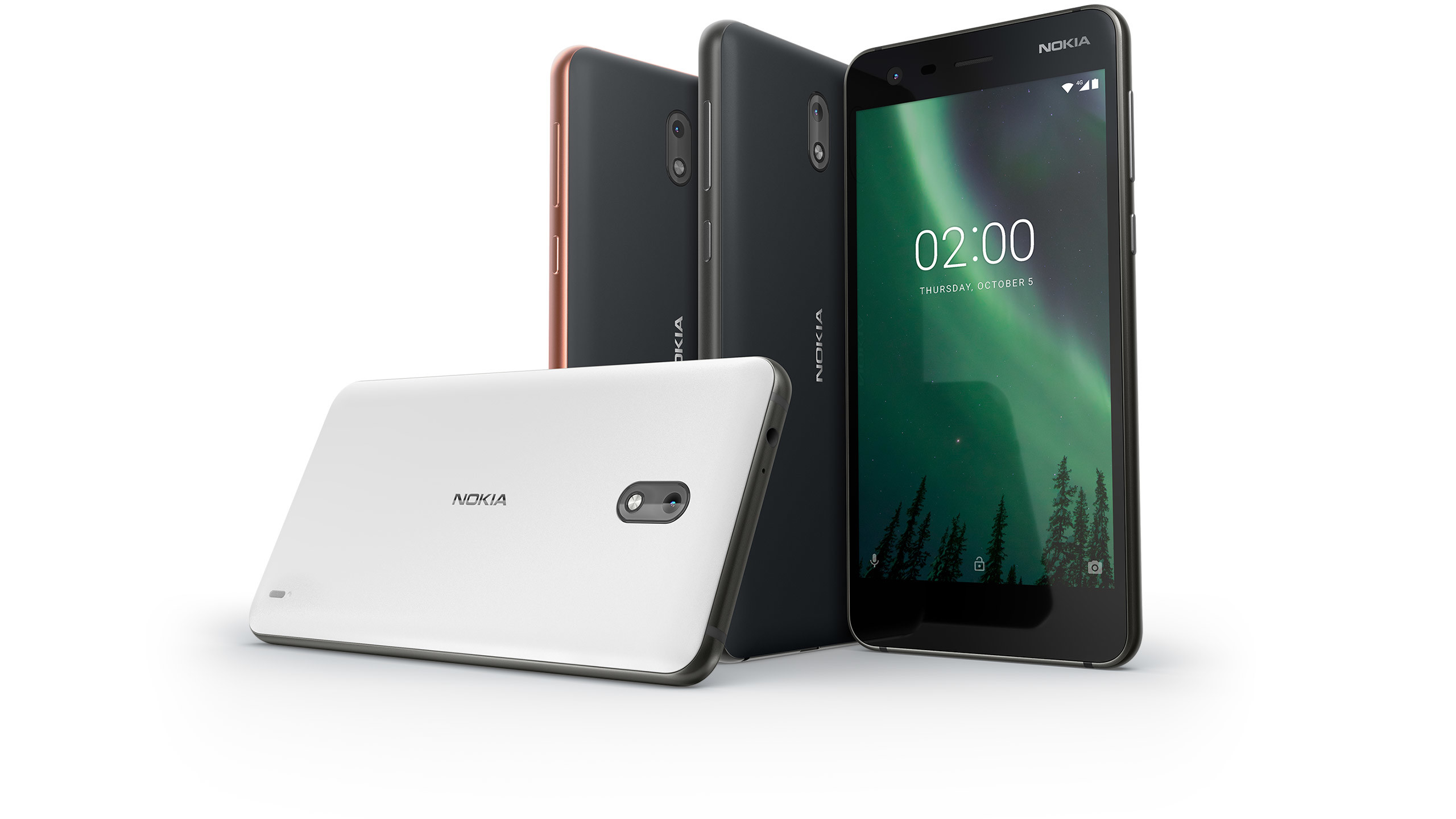 The Nokia 2 smartphone from HMD Global.