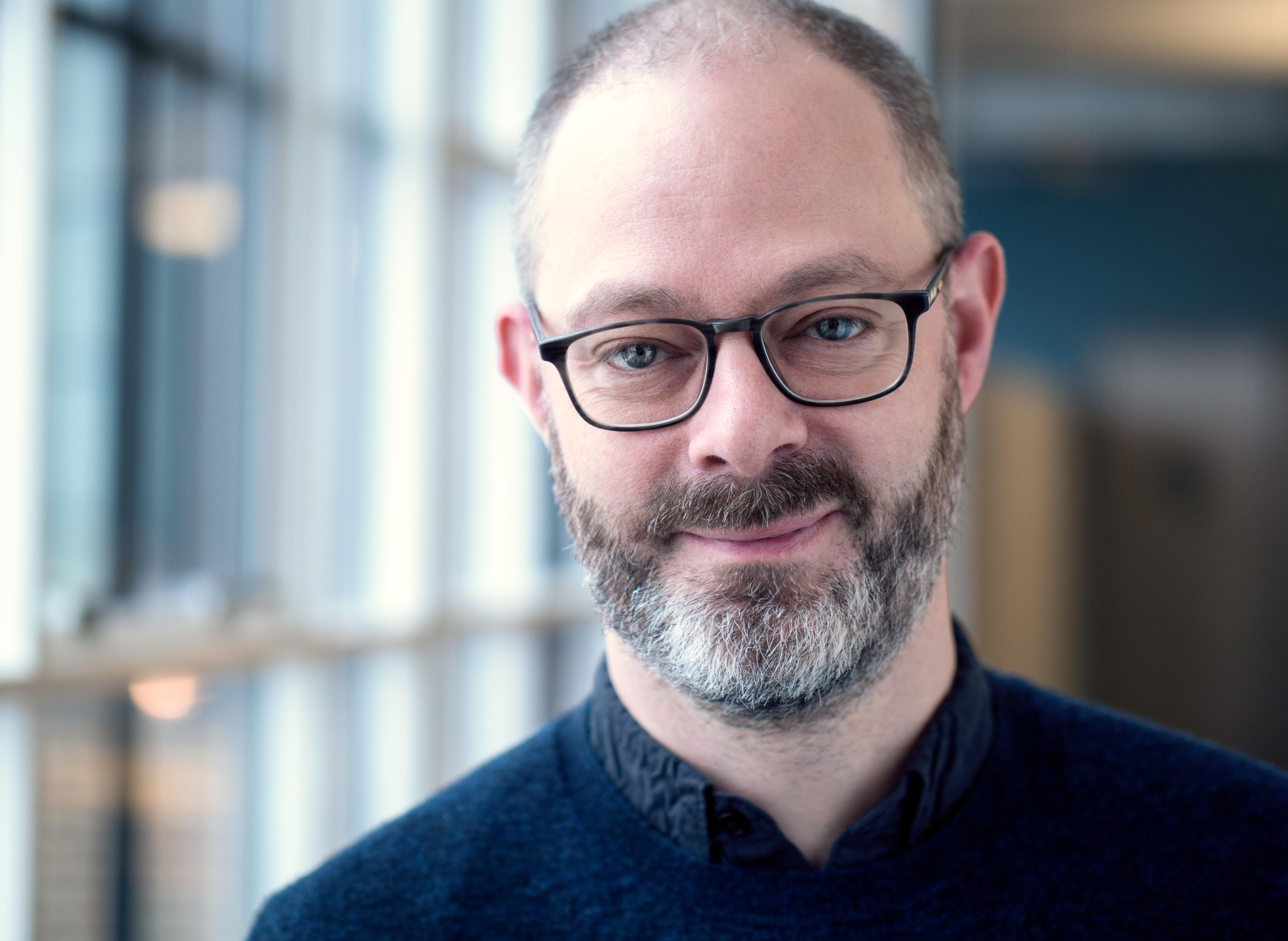 Managing partner of Smart Design, Richard Whitehall.