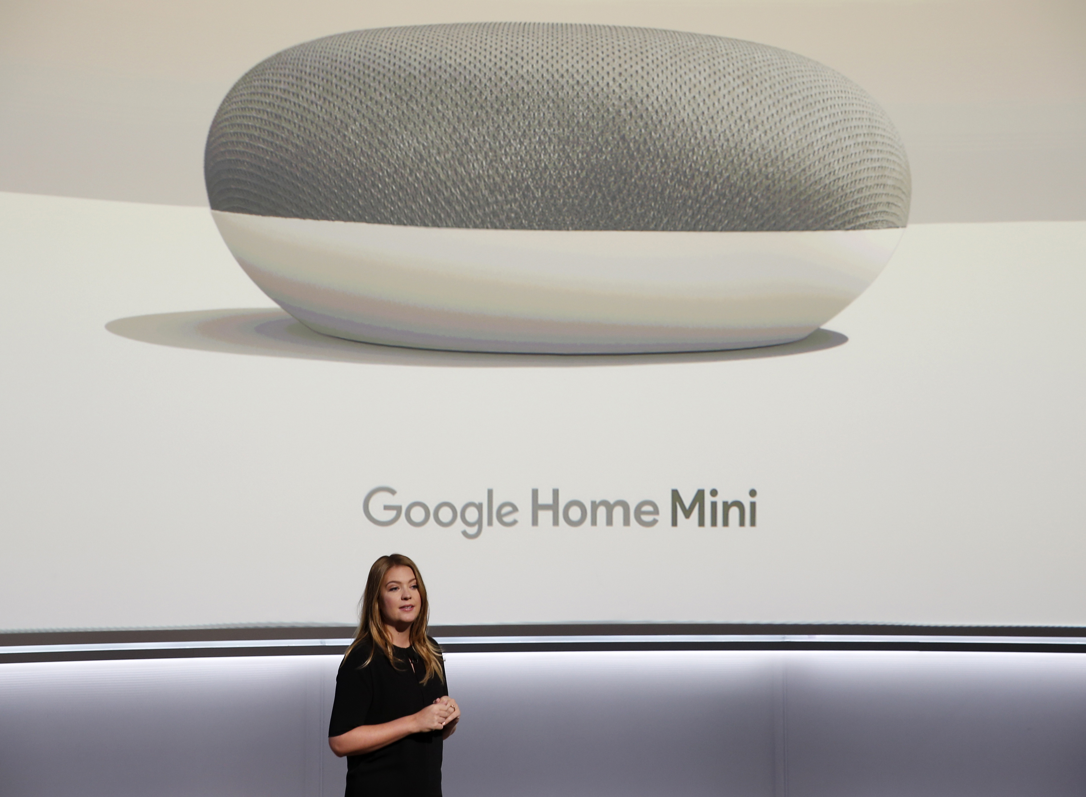 Google's Olsson speaks during a launch event in San Francisco