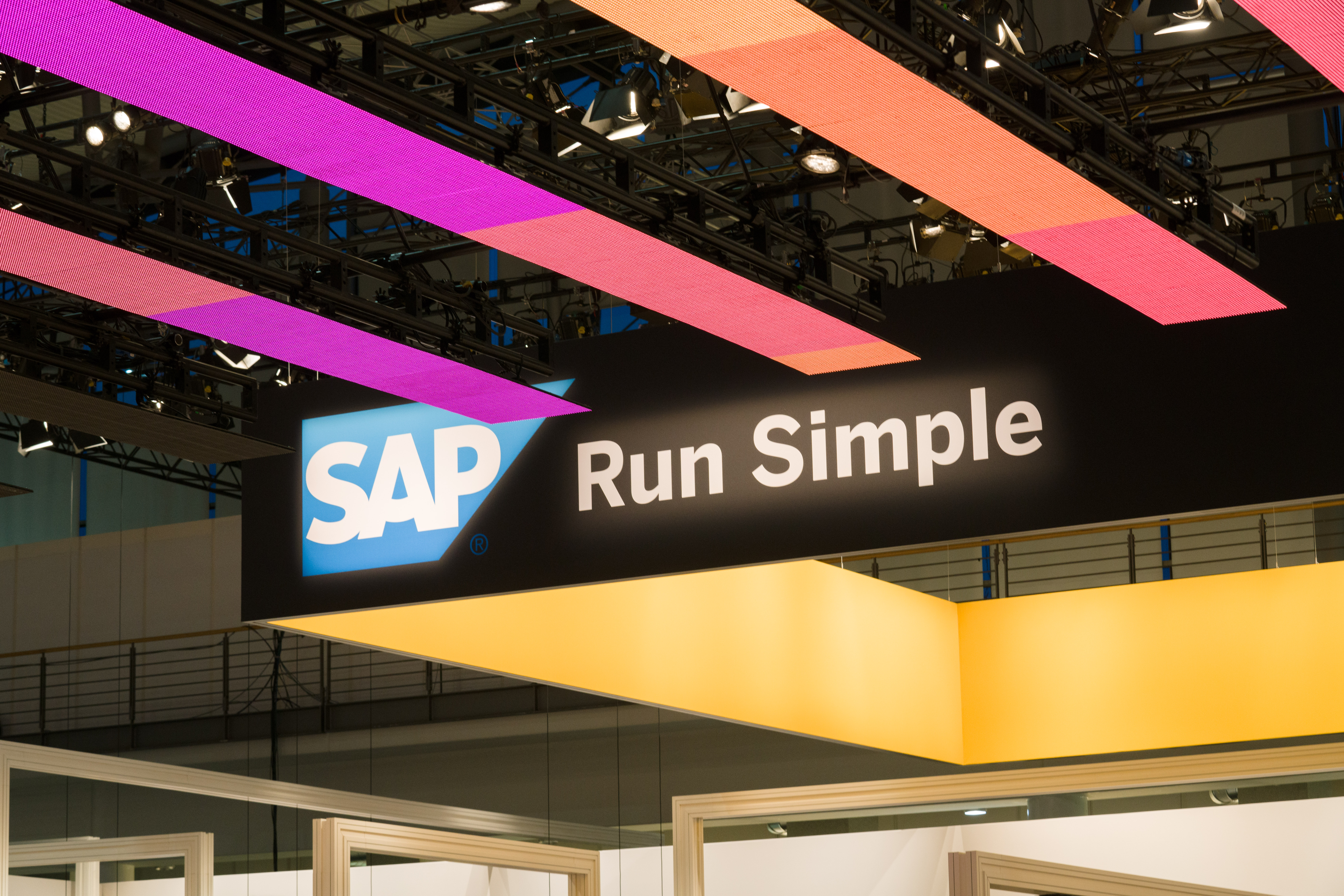 SAP SI at Cebit Hannover, Germany on March 20, 2017