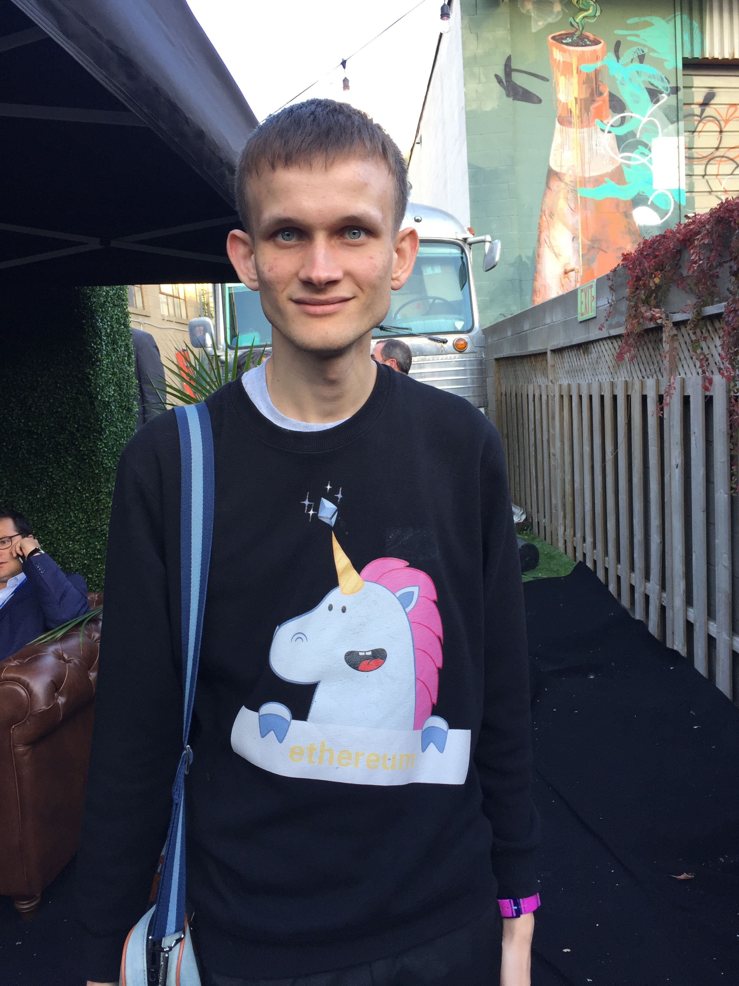 Vitalik Buterin at Ripple Swell 2017.