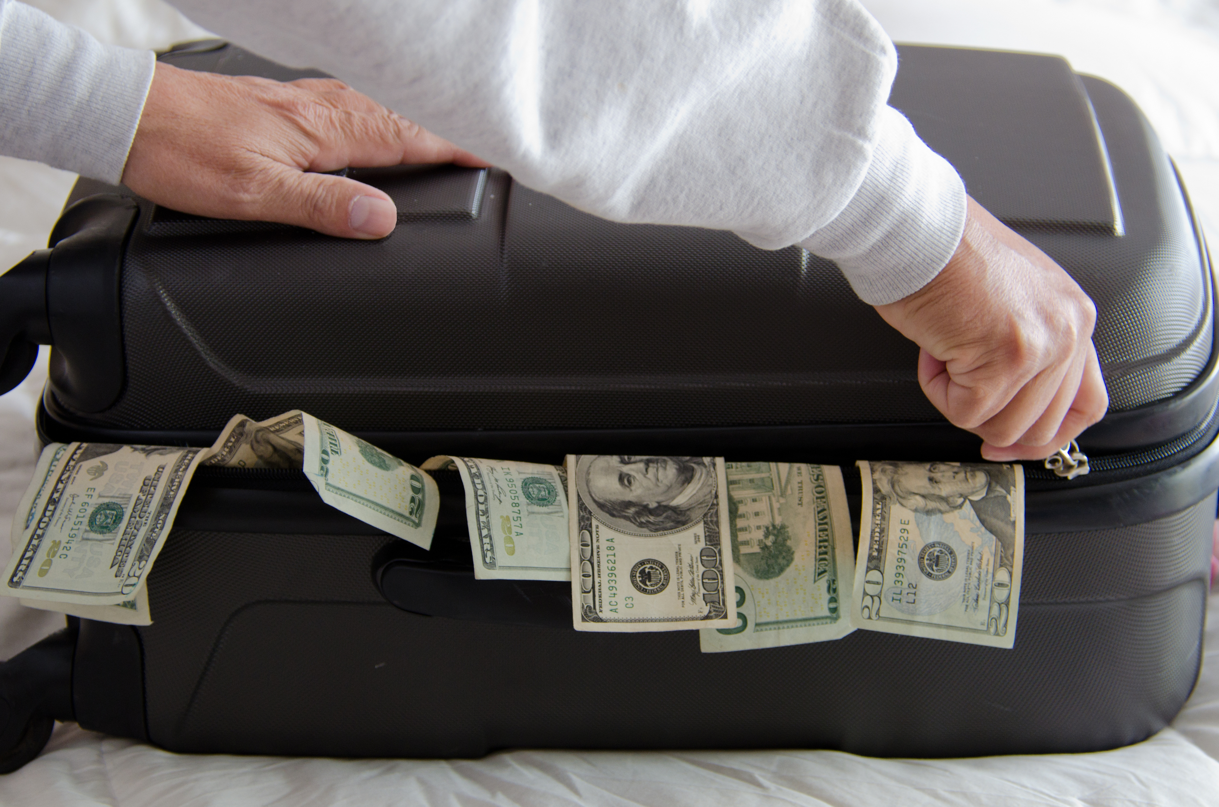 A Suitcase Full of Money