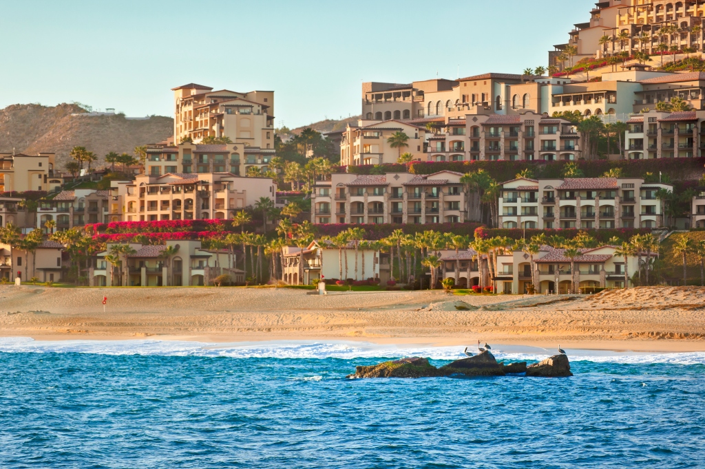 Cabo San Lucas Resort from Pacific Ocean