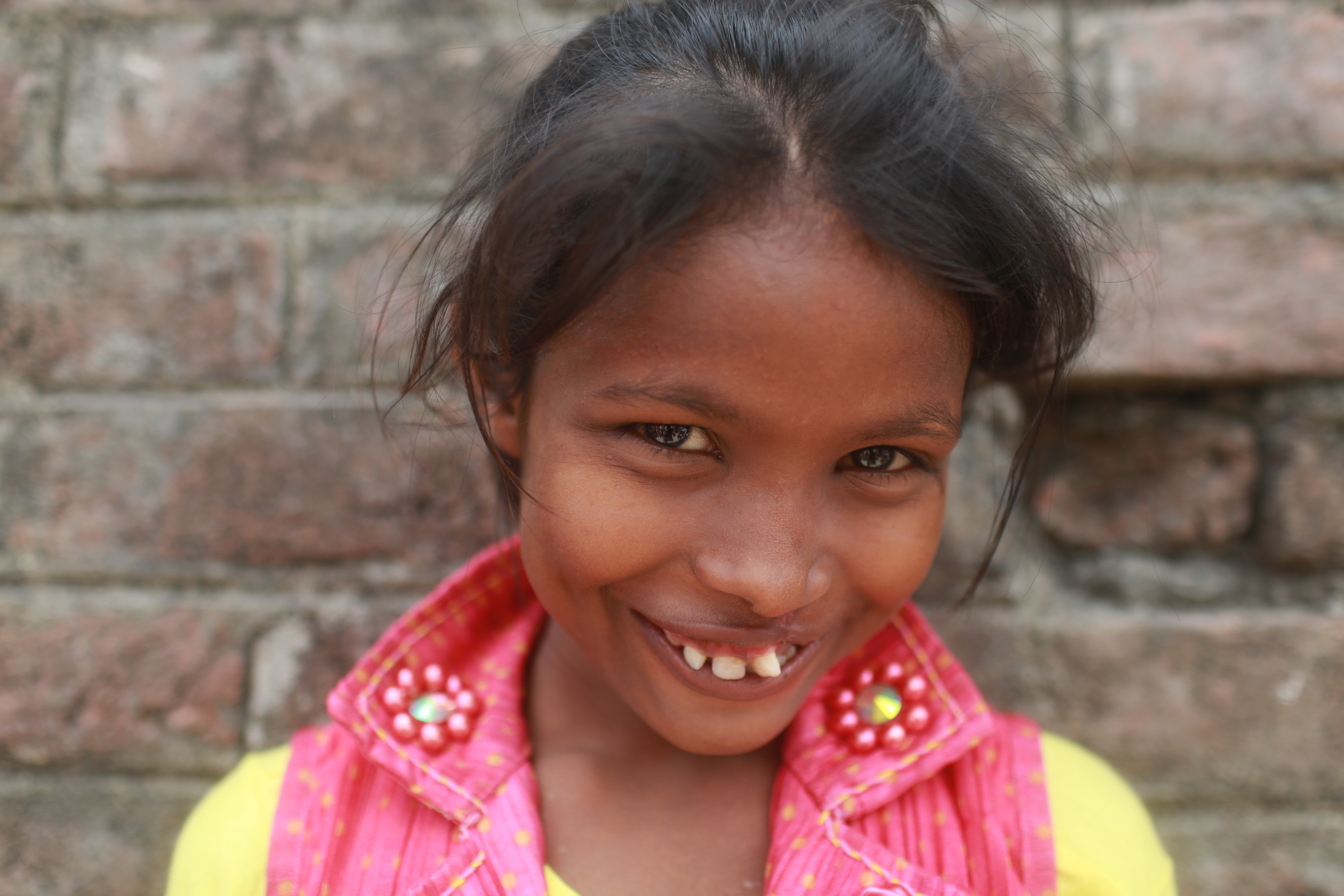 One VR production by nonprofit Smile Train follows the journey of young Nisha (pictured) as she leaves her remote village for surgery and the exuberant joy she experiences post-operation upon her return.