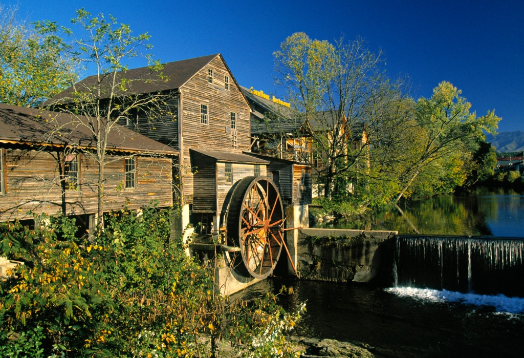 Old Mill, Pigeon Forge, Tennessee, USA