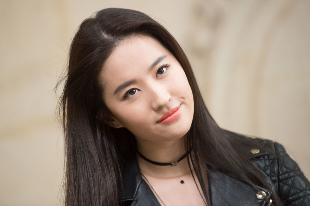 Chinese actor Liu Yifei, also known as Crystal Liu, smiles for the camera.