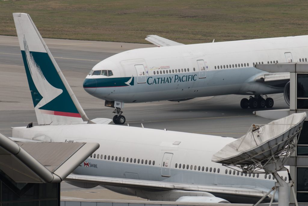 HONG KONG-CHINA-CATHAY-AIRLINE-EARNINGS