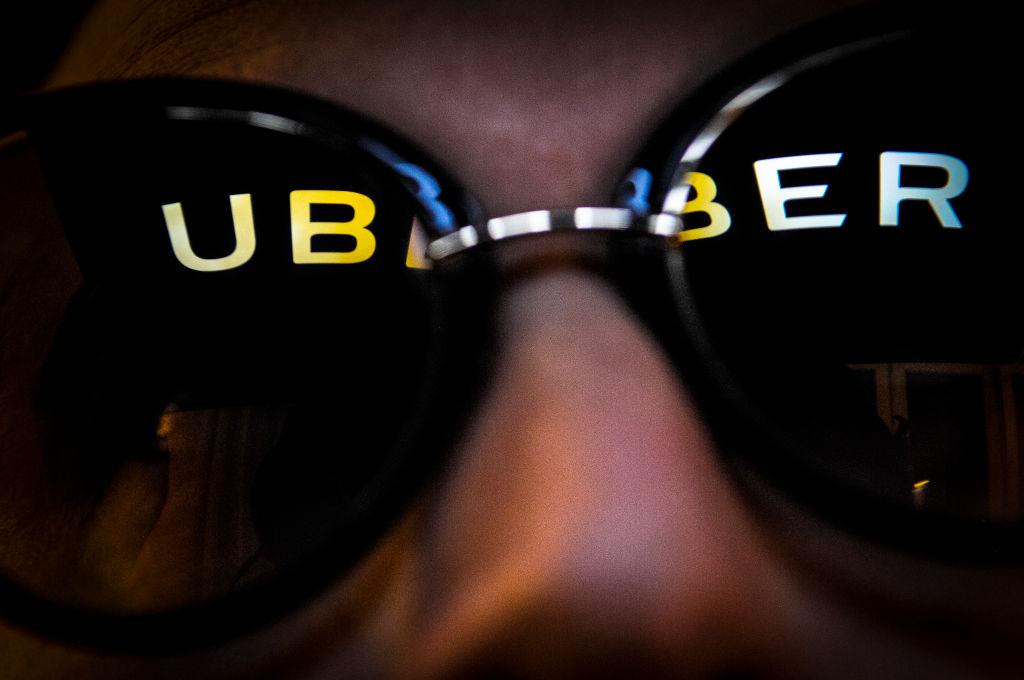 Uber Logo in Sunglasses