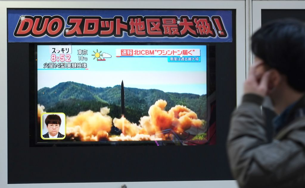 TOPSHOT-JAPAN-NKOREA-MILITARY-MISSILE