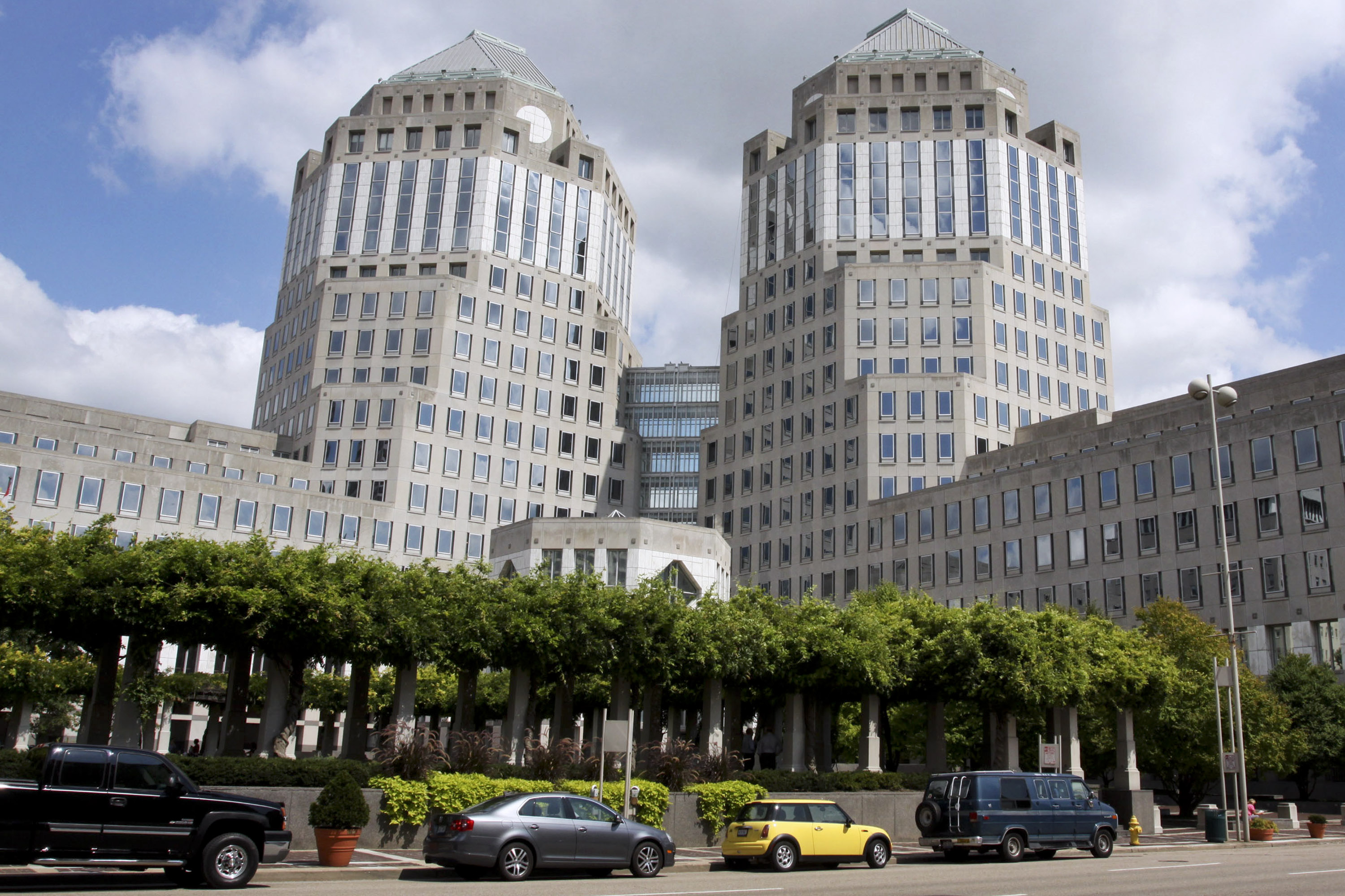 The headquarters complex of Procter & Gamble