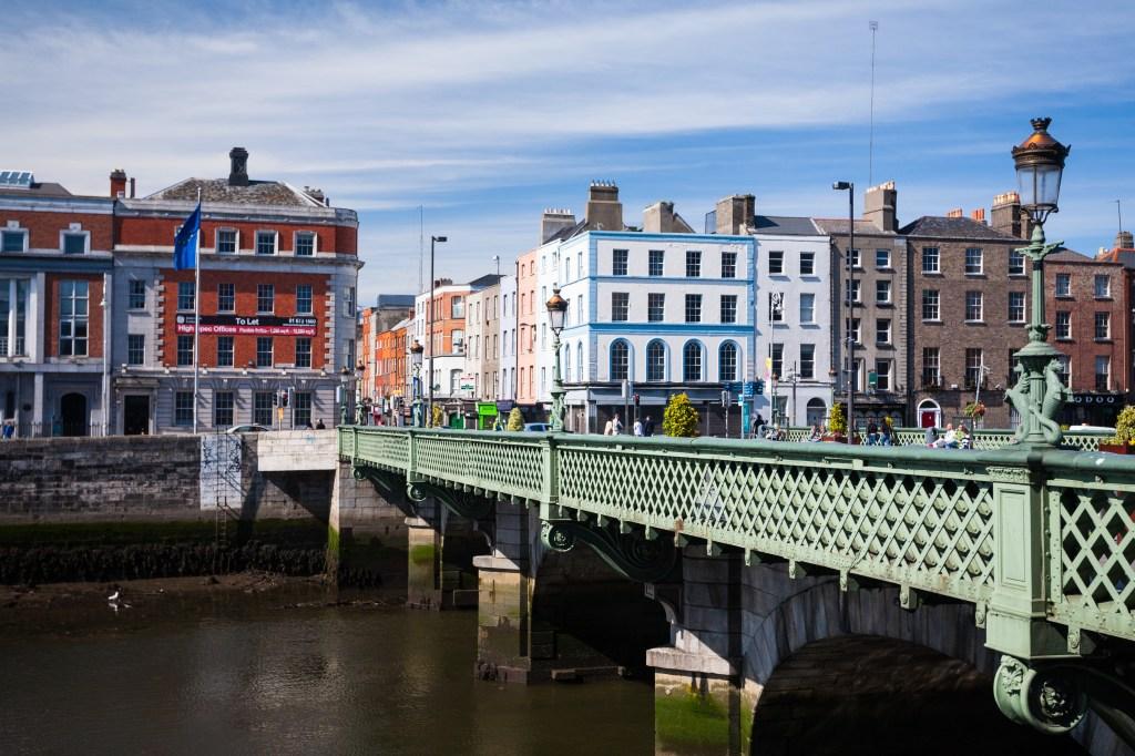 Grattan Bridge in Dublin City, Ireland