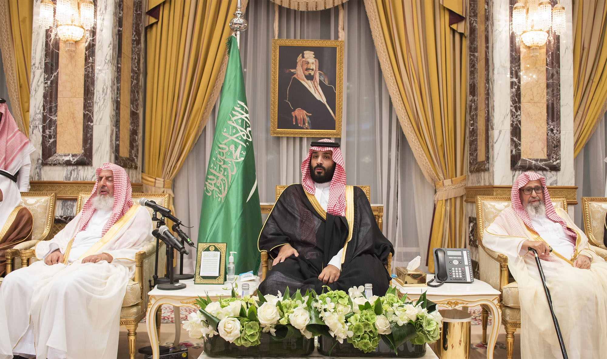New Saudi crown prince Mohammad bin Salman al-Saud