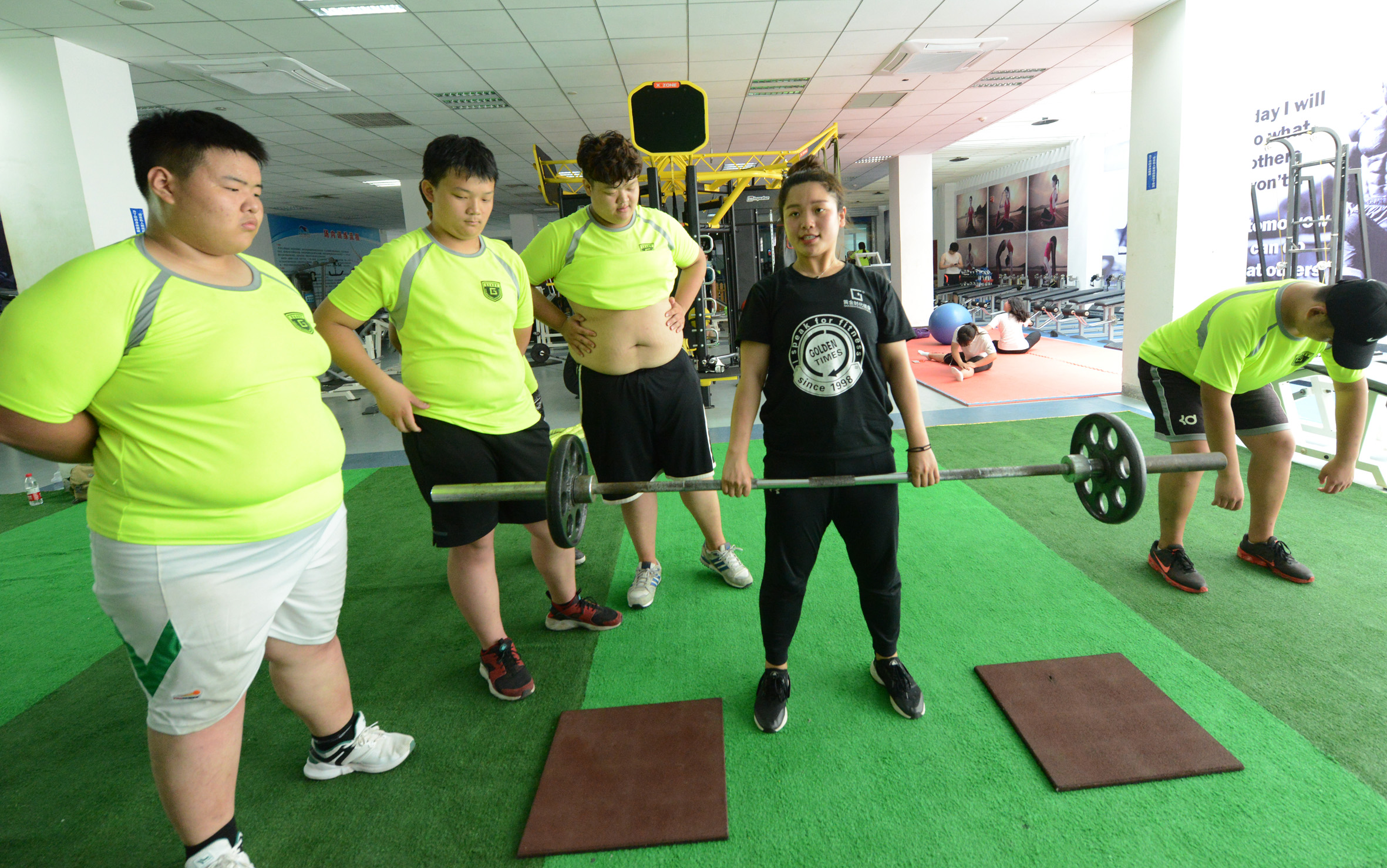 Obese Students Attend Summer Camps To Lose Weight In Zhengzhou