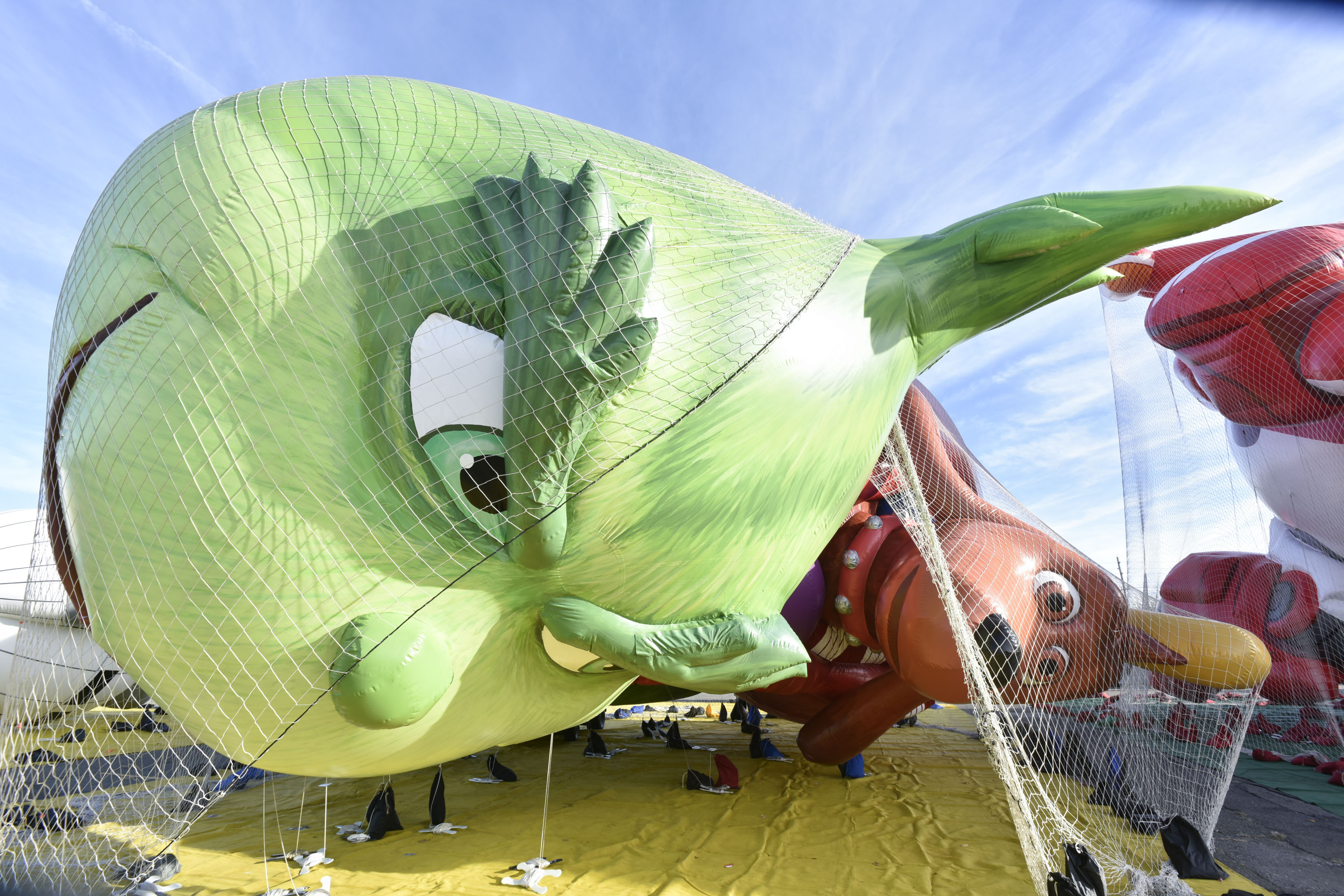 Macy's Debuts New Giant Character Balloons For The 91st Annual Macy's Day Parade