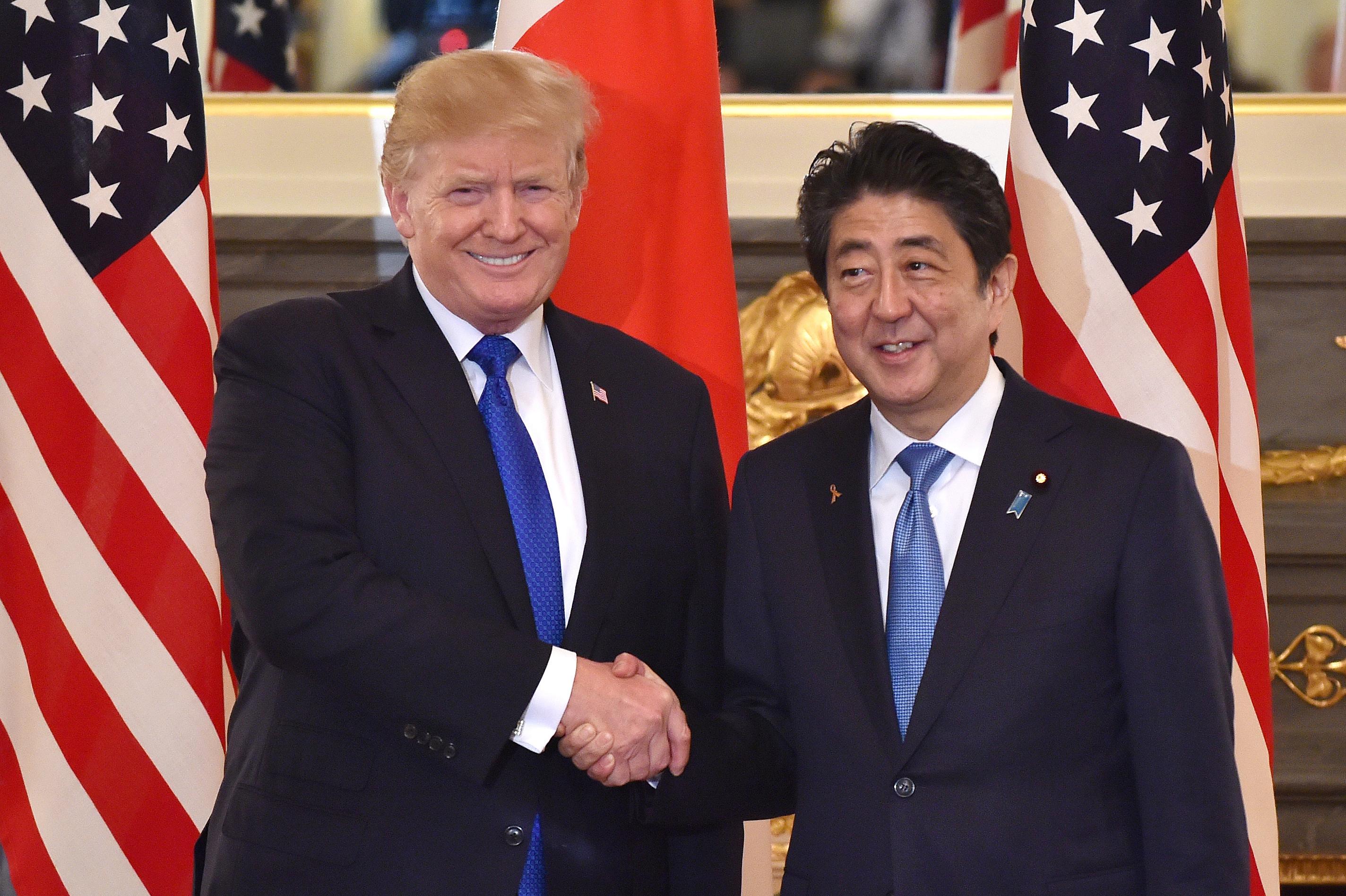 U.S. President Donald Trump's Second Day In Japan