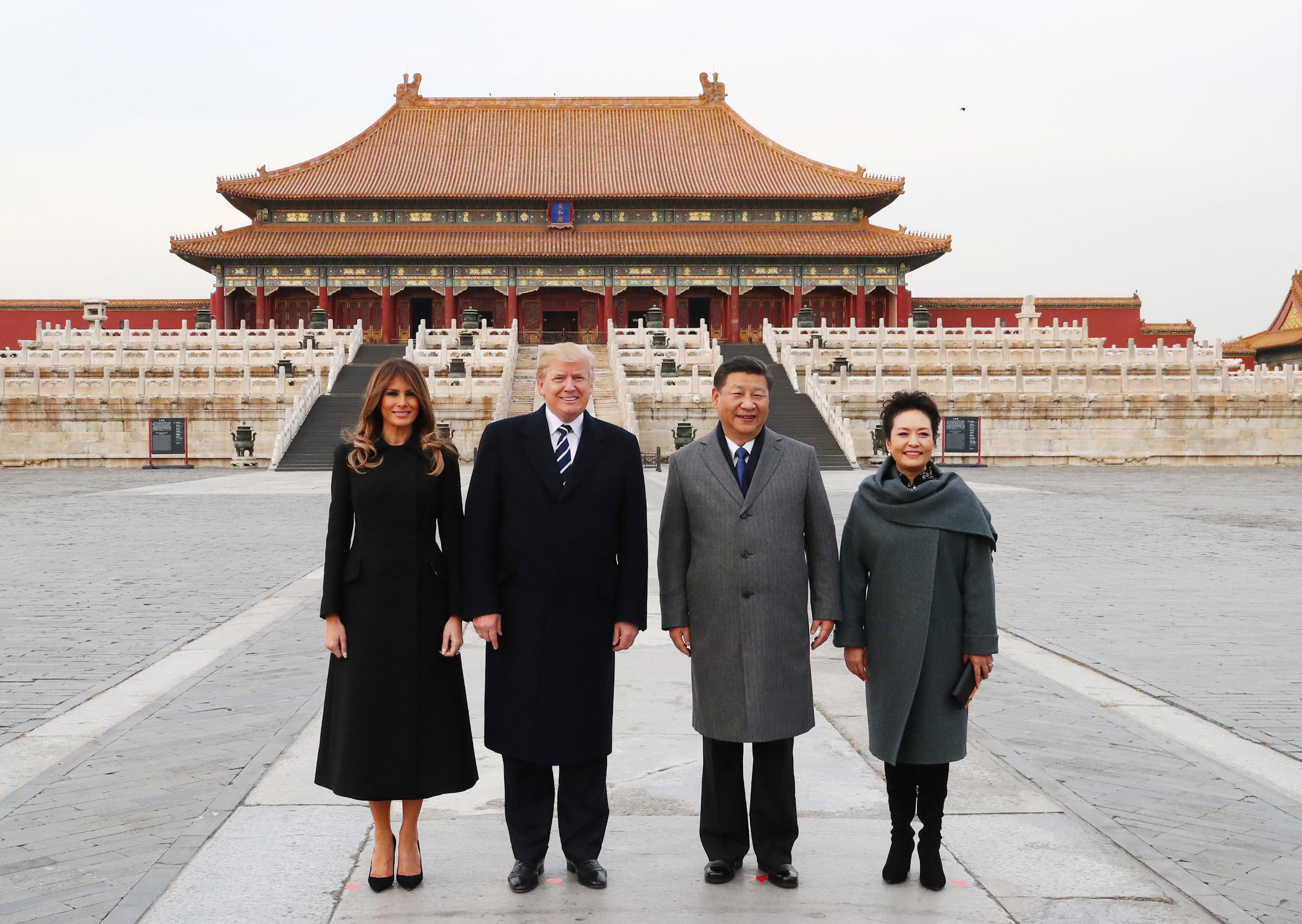 CHINA-BEIJING-XI JINPING-TRUMP-PALACE MUSEUM-VISIT(CN)