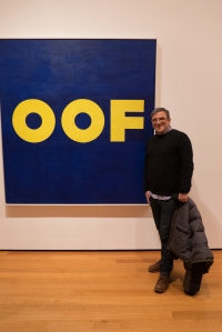 Edward Ruscha's famous OOF painting