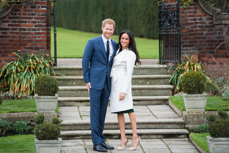 prince harry megan markle engagement coat