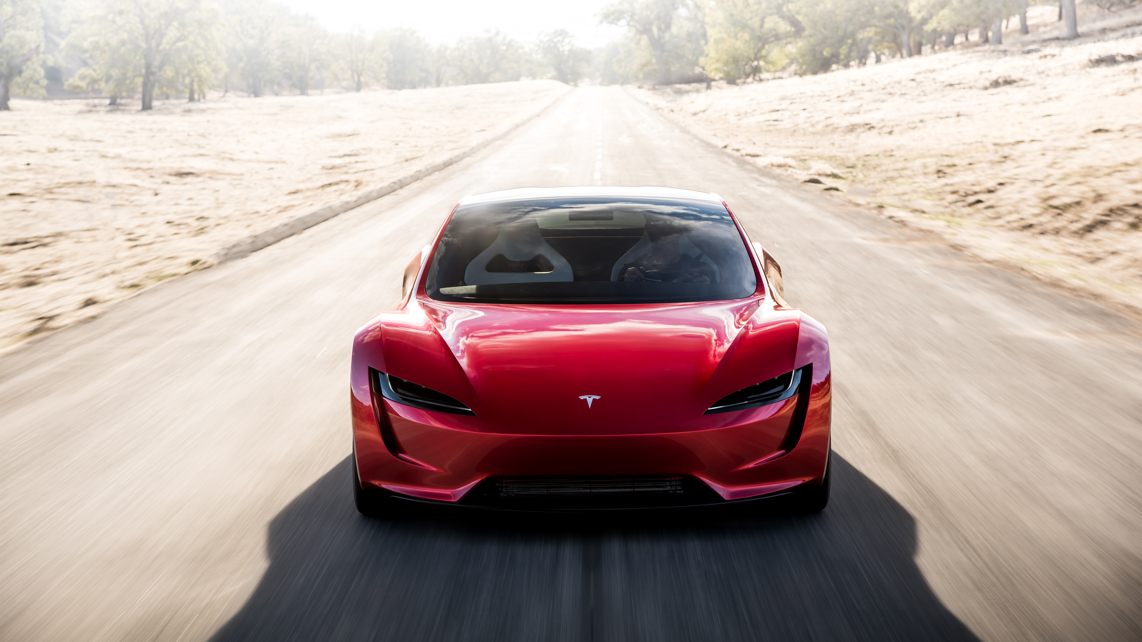 Tesla CEO Elon Musk unveiled a prototype of the new Roadster on Nov. 16, 2017.