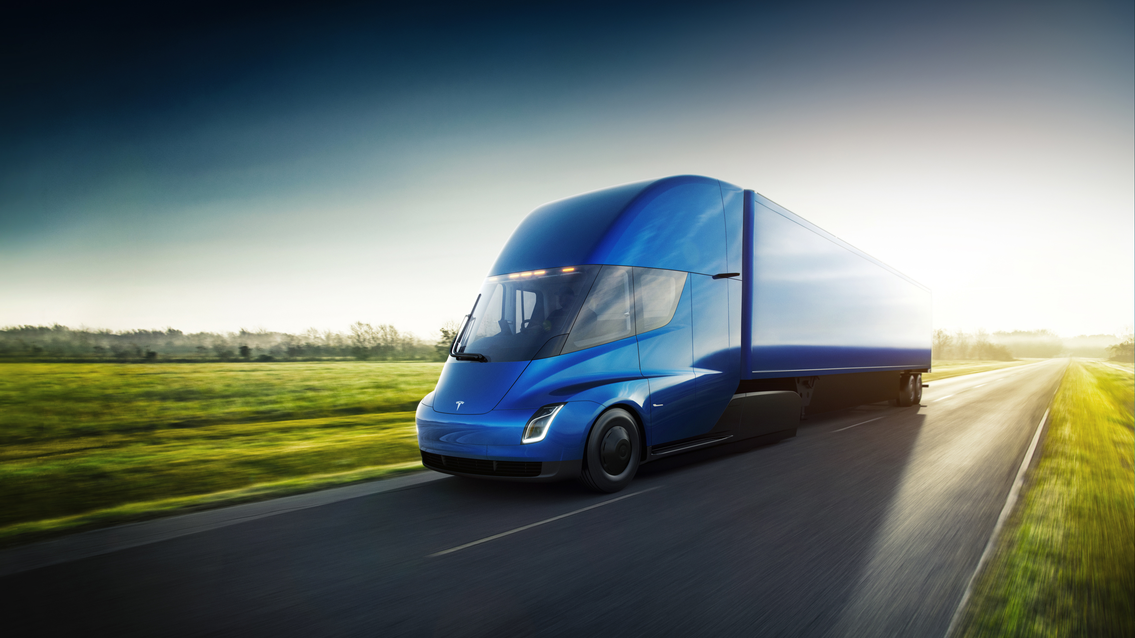 Tesla's new semi-truck will go into production in 2019, the company says. It was unveiled Thursday, Nov. 16, 2017 by CEO Elon Musk.