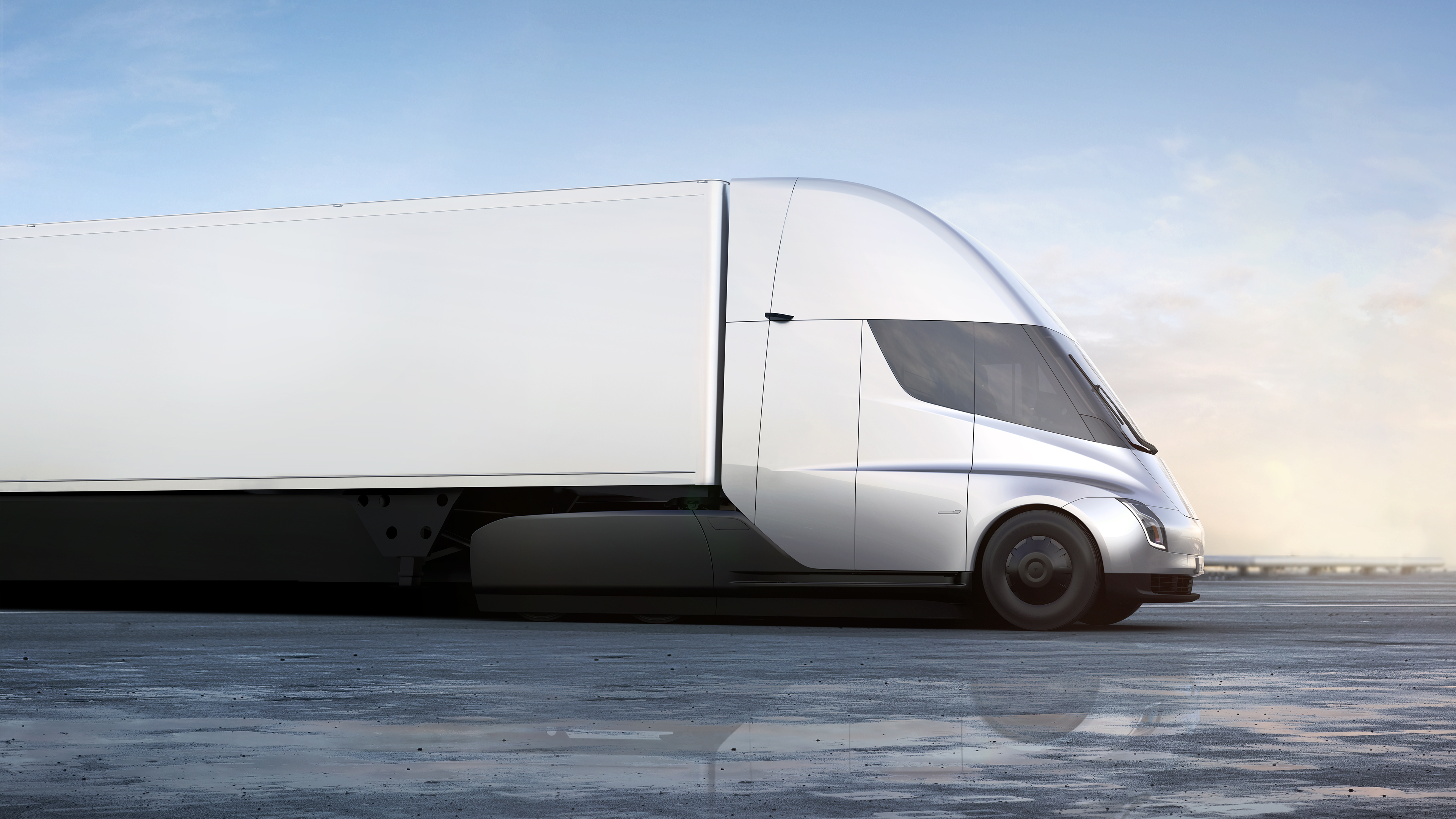 Tesla CEO Elon Musk unveiled the Tesla Semi Truck Thursday, November 16, 2017.