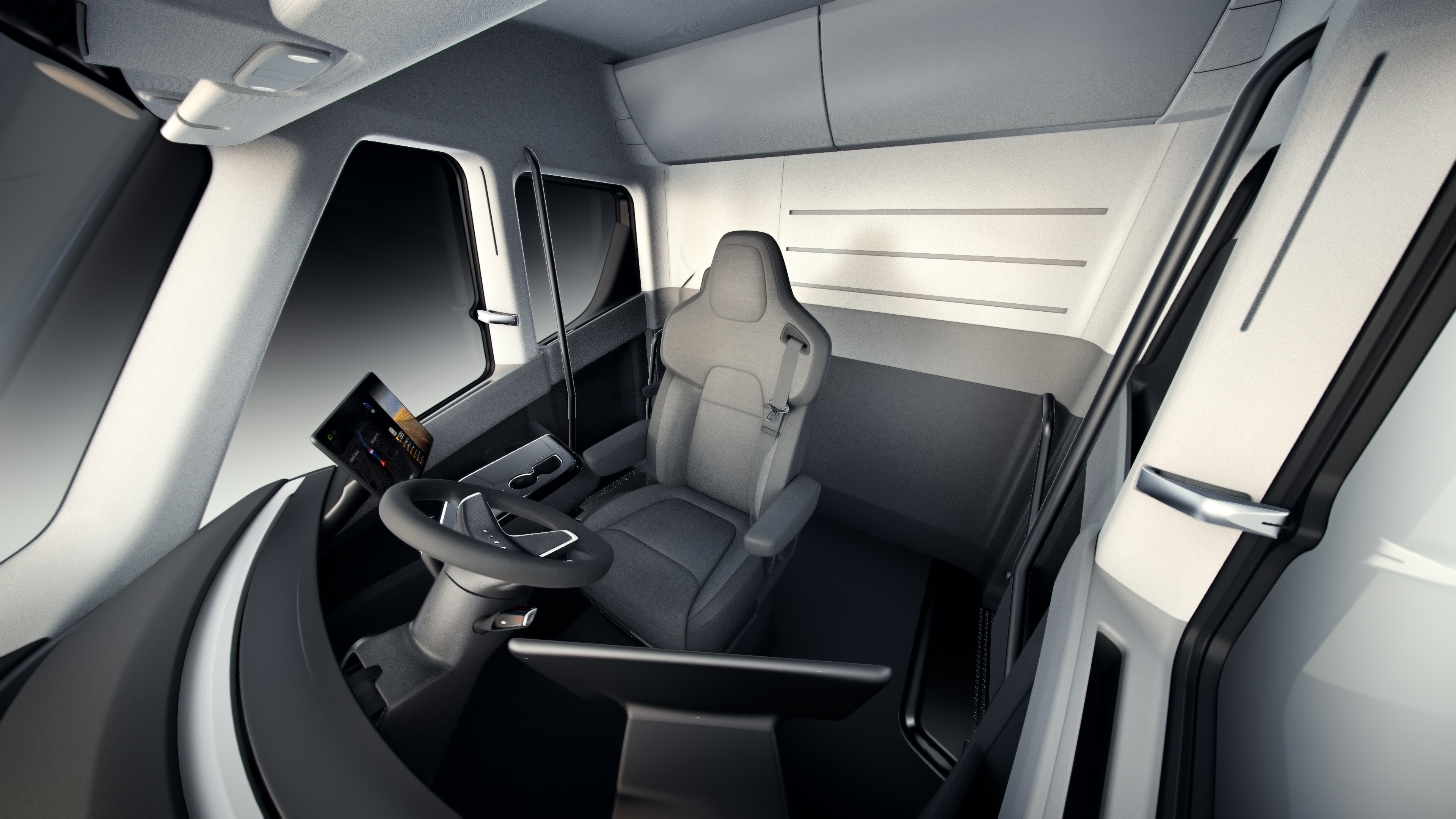 Tesla Truck: An Look Inside The New Electric Semi | Fortune