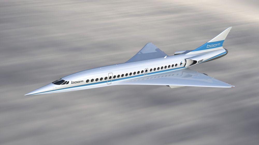 Boom's supersonic jet.