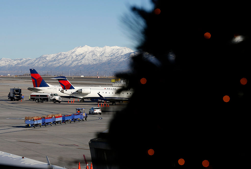 Security At The Salt Lake City International Airport During Holiday Travel