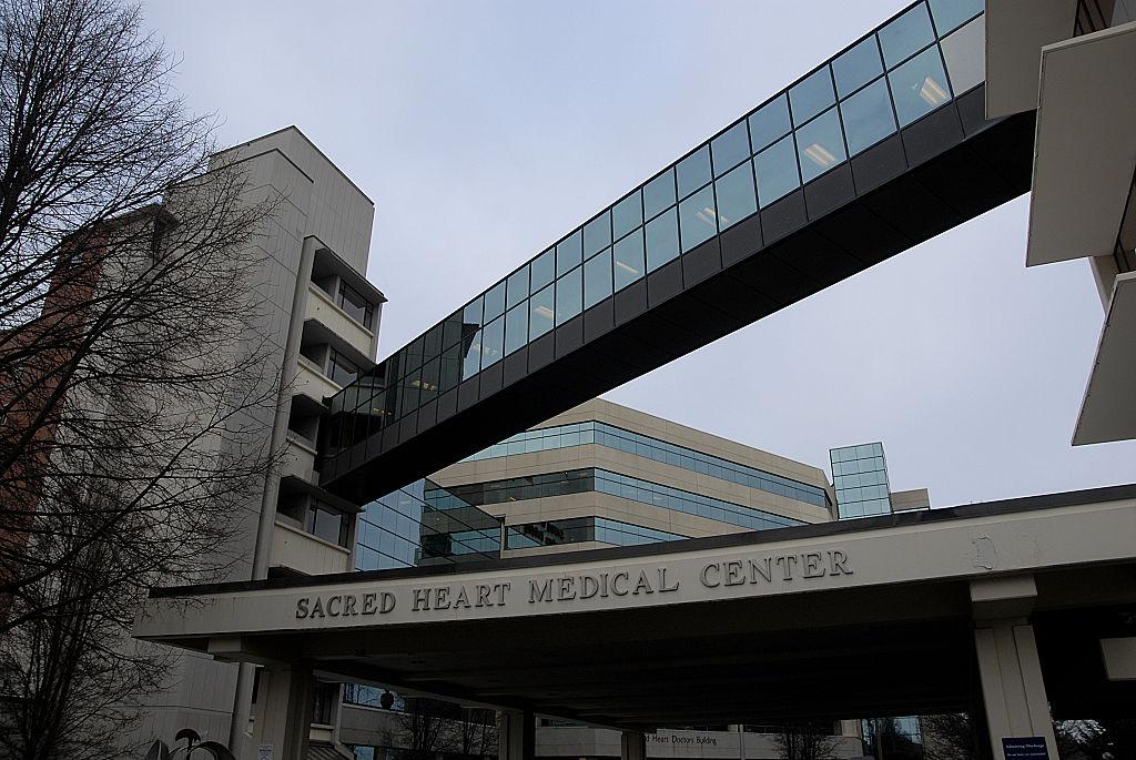 Sacred heart medicak center in Spokane in wshington, USA