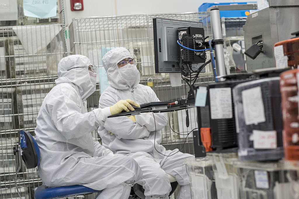 Operations Inside The Applied Materials Silicon Valley Campus Ahead Of Earnings Figures
