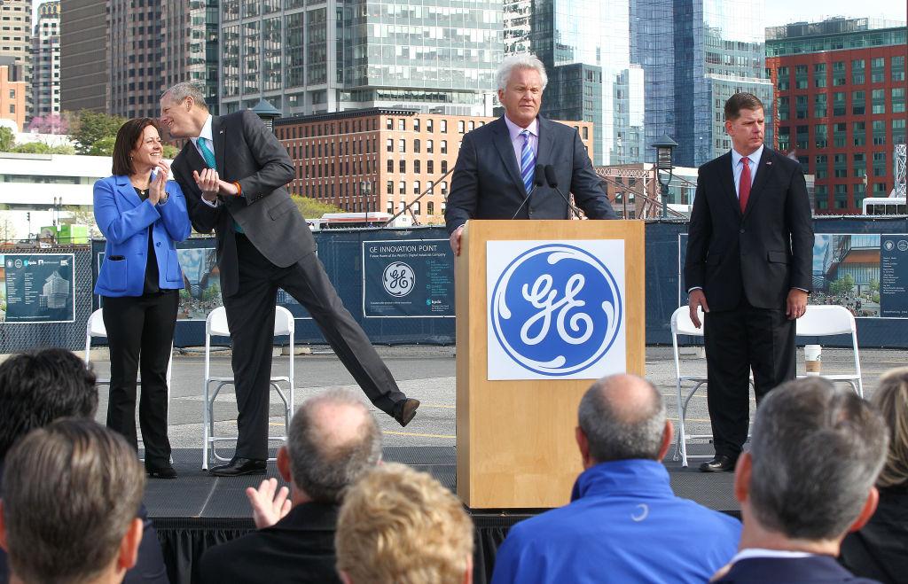 Groundbreaking For New GE Headquarters