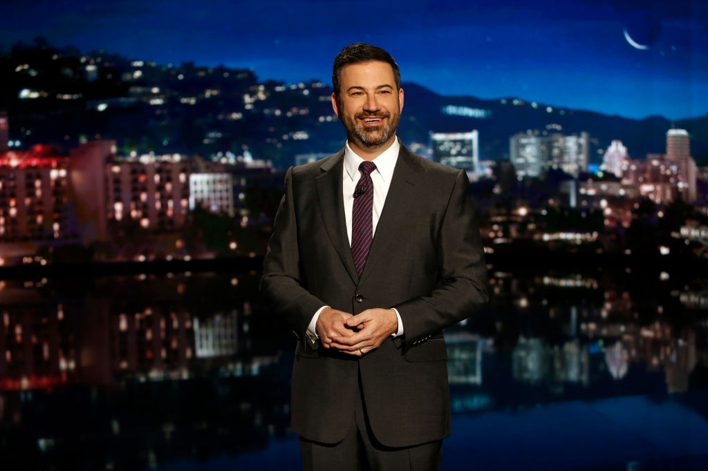 Jimmy Kimmel hosting ABC's Jimmy Kimmel Live!