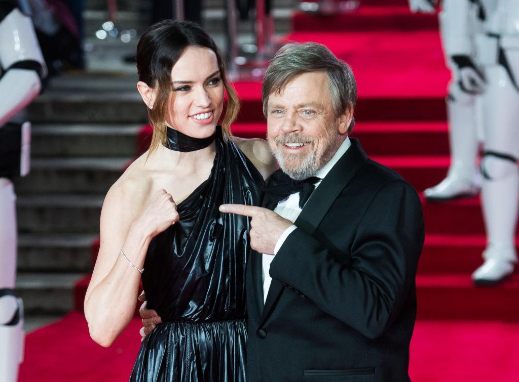 'Star Wars: The Last Jedi' European Premiere - Red Carpet Arrivals
