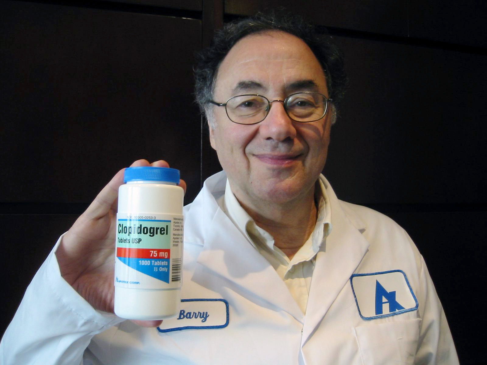 Apotex Inc. Chief Executive Officer Barry Sherman poses with
