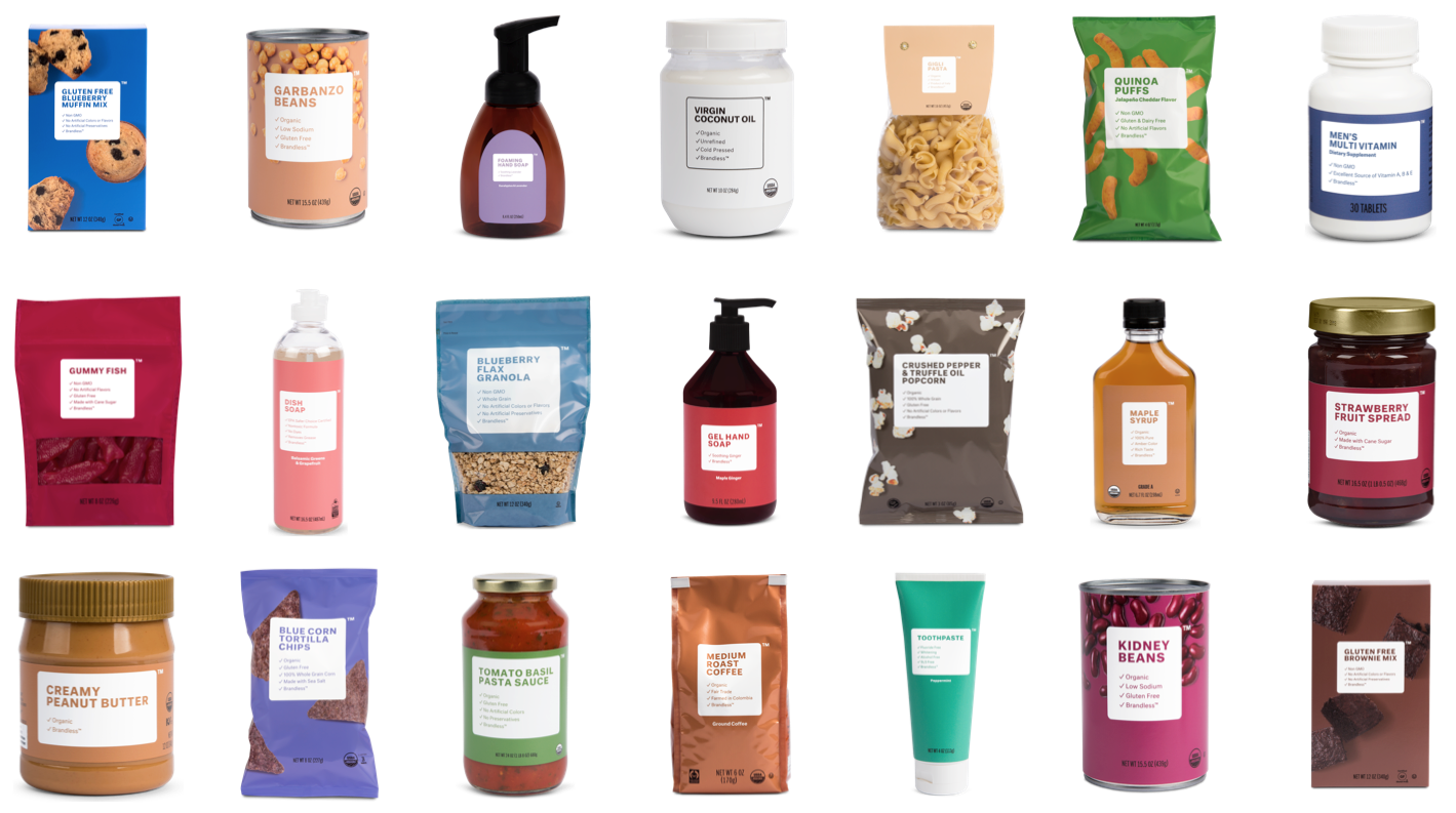 Brandless Product Assortment (1)