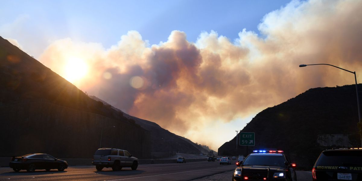 California Fire Freeway Closures: Parts of 405, 210 Shut