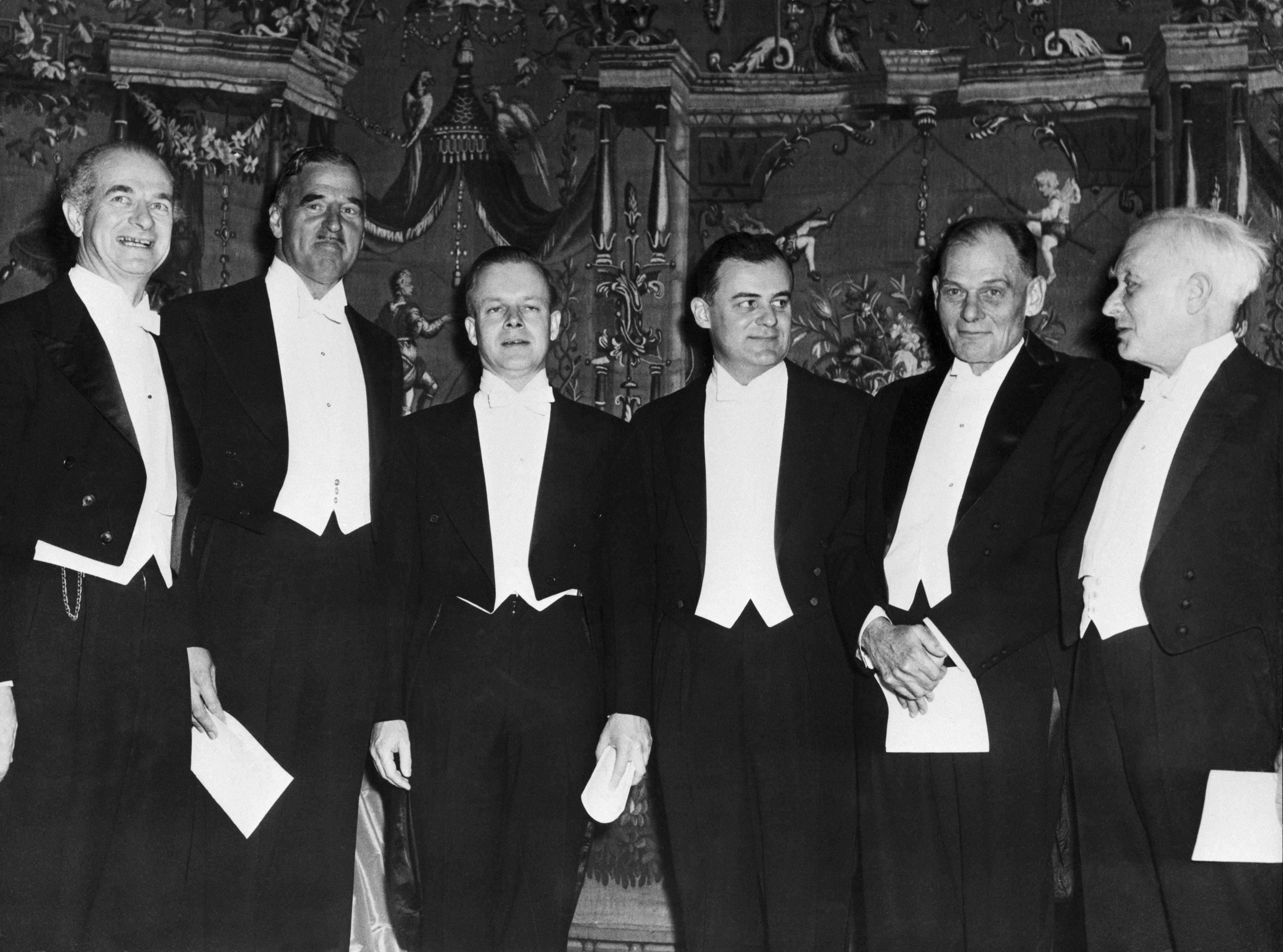 1954 Nobel Prize Winners