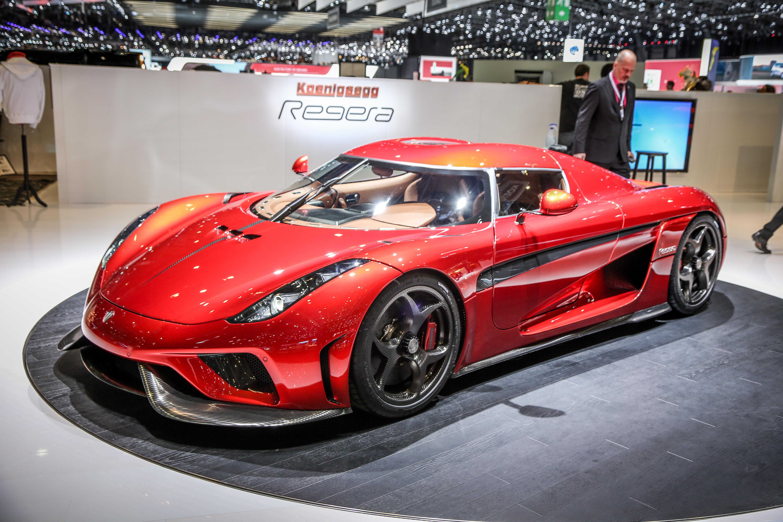 86th Geneva International Motorshow at Palexpo in Switzerland, March 2, 2016