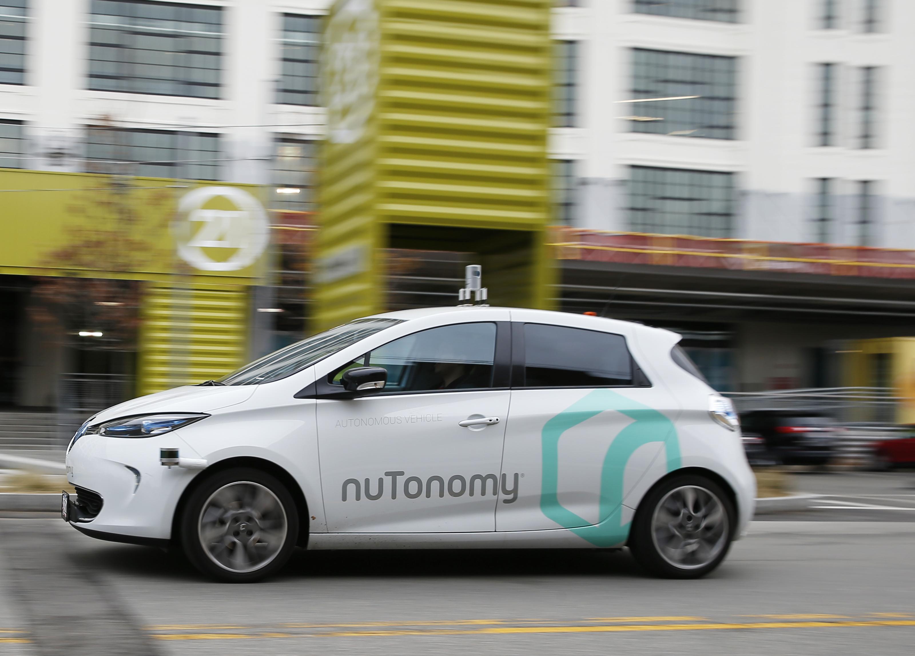 First Driverless Car In Boston