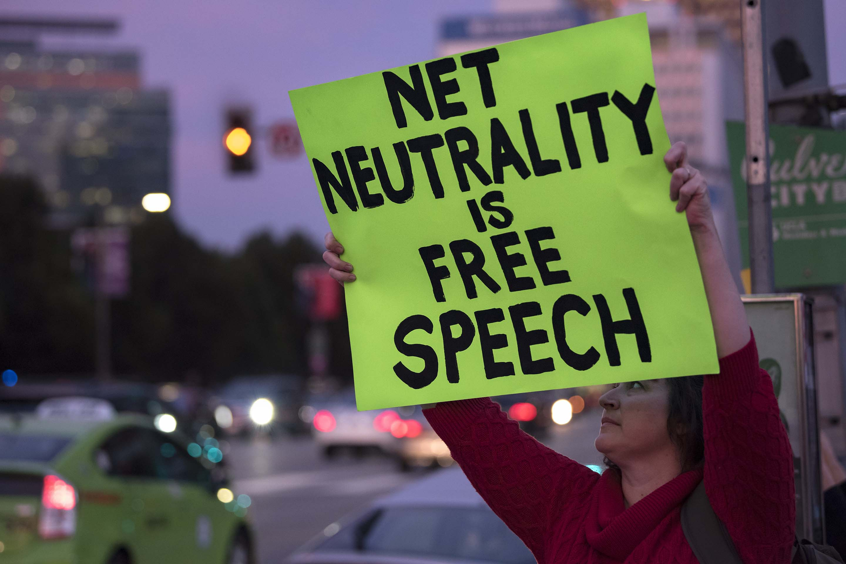 Net Neutrality Rally in Los Angeles