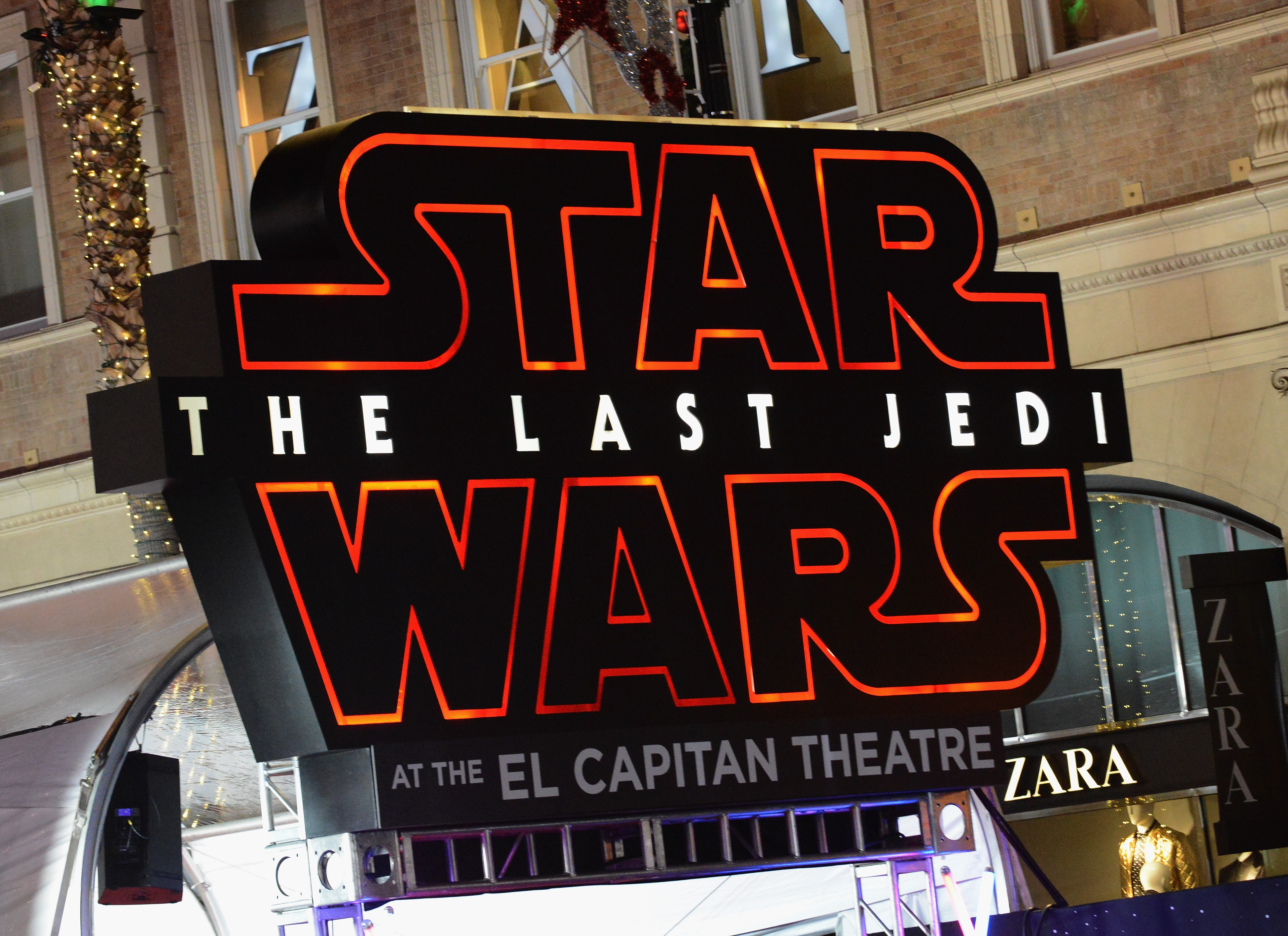"""Opening Night Celebration Of Walt Disney Pictures And Lucasfilm's """"Star Wars: The Last Jedi"""" At TCL Chinese Theatre"""