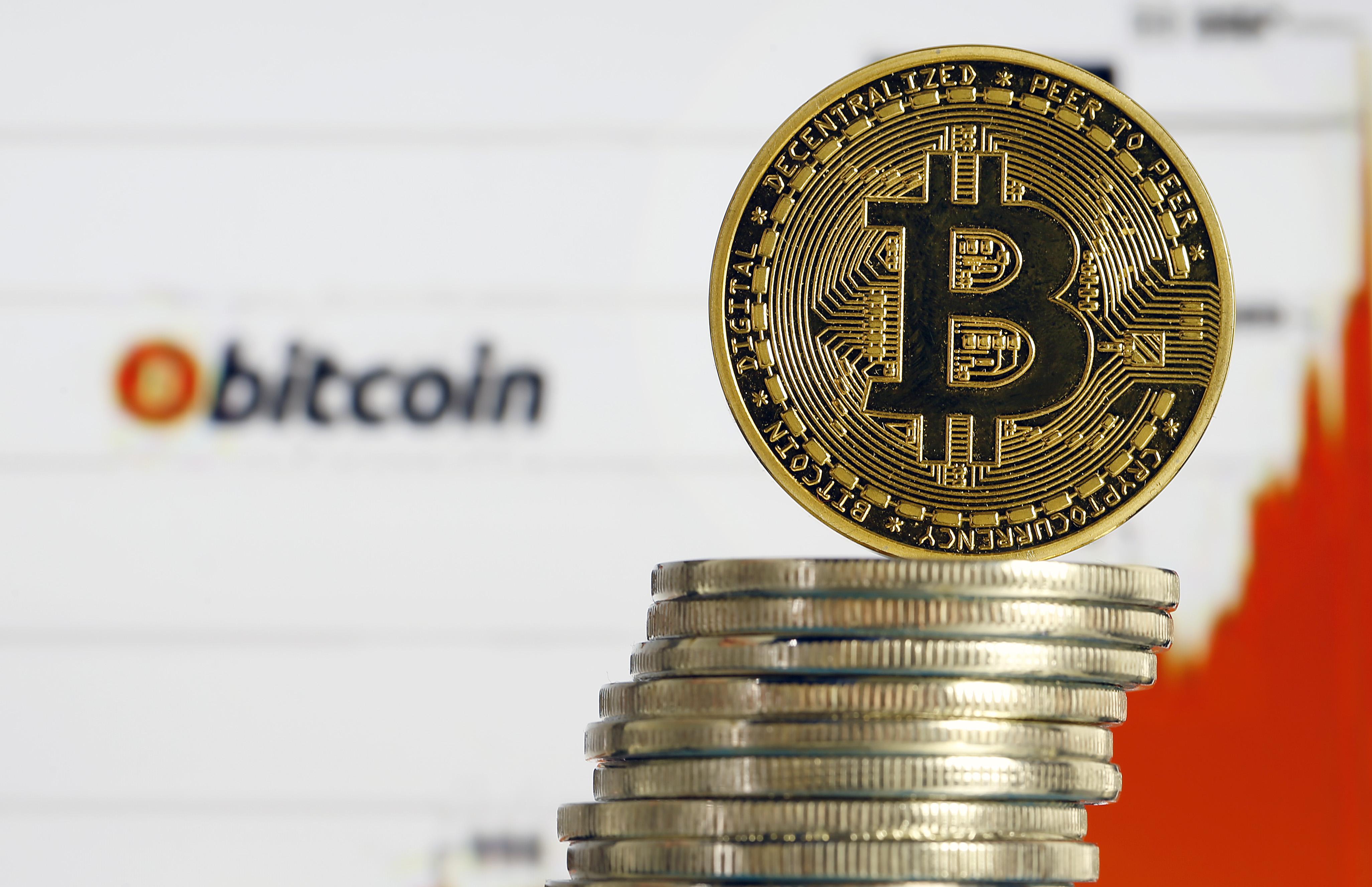Bitcoin : Illustration In Paris