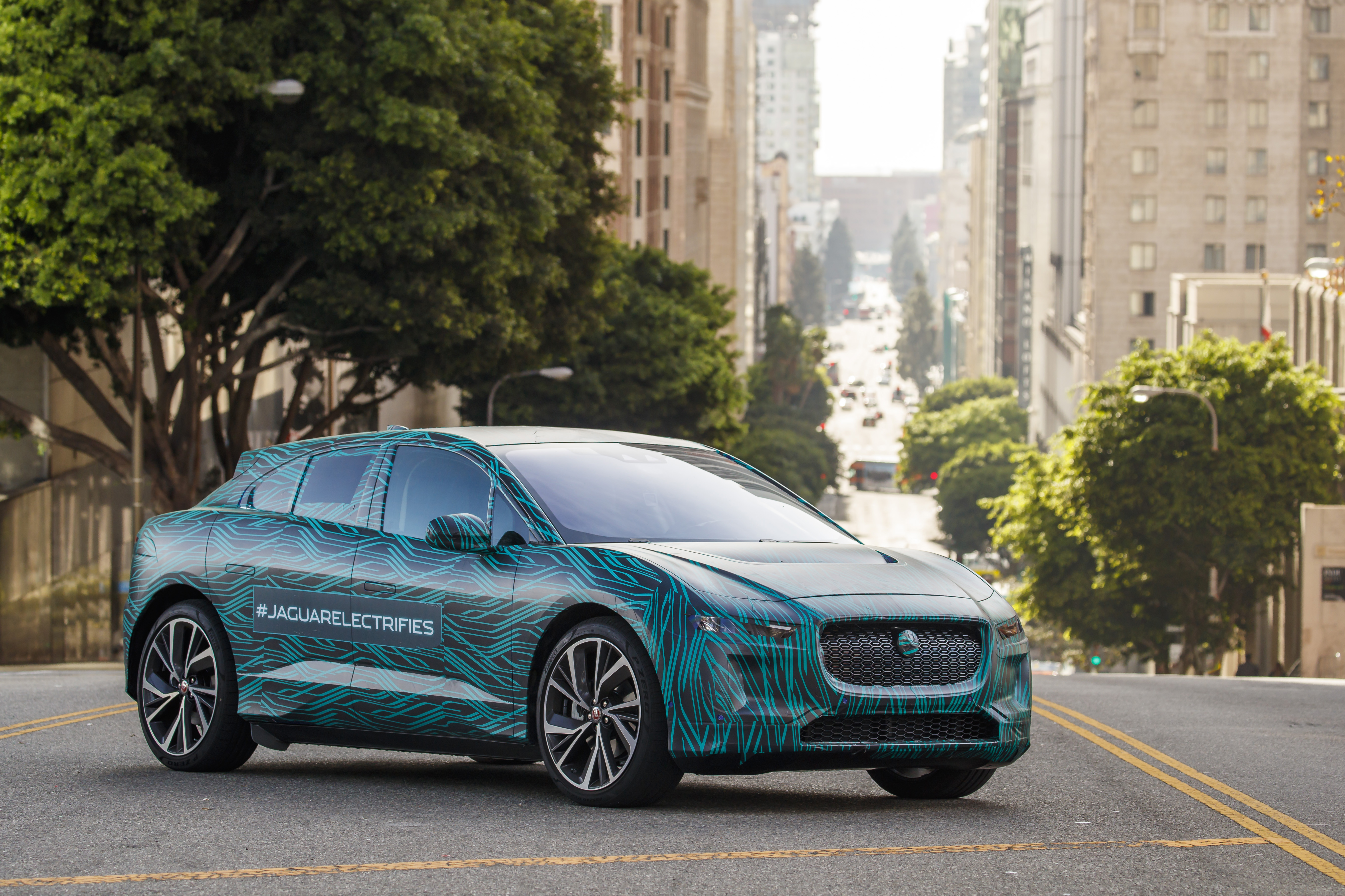 Jaguar Land Rover is introducing a new all-electric vehicle called the I-PACE.