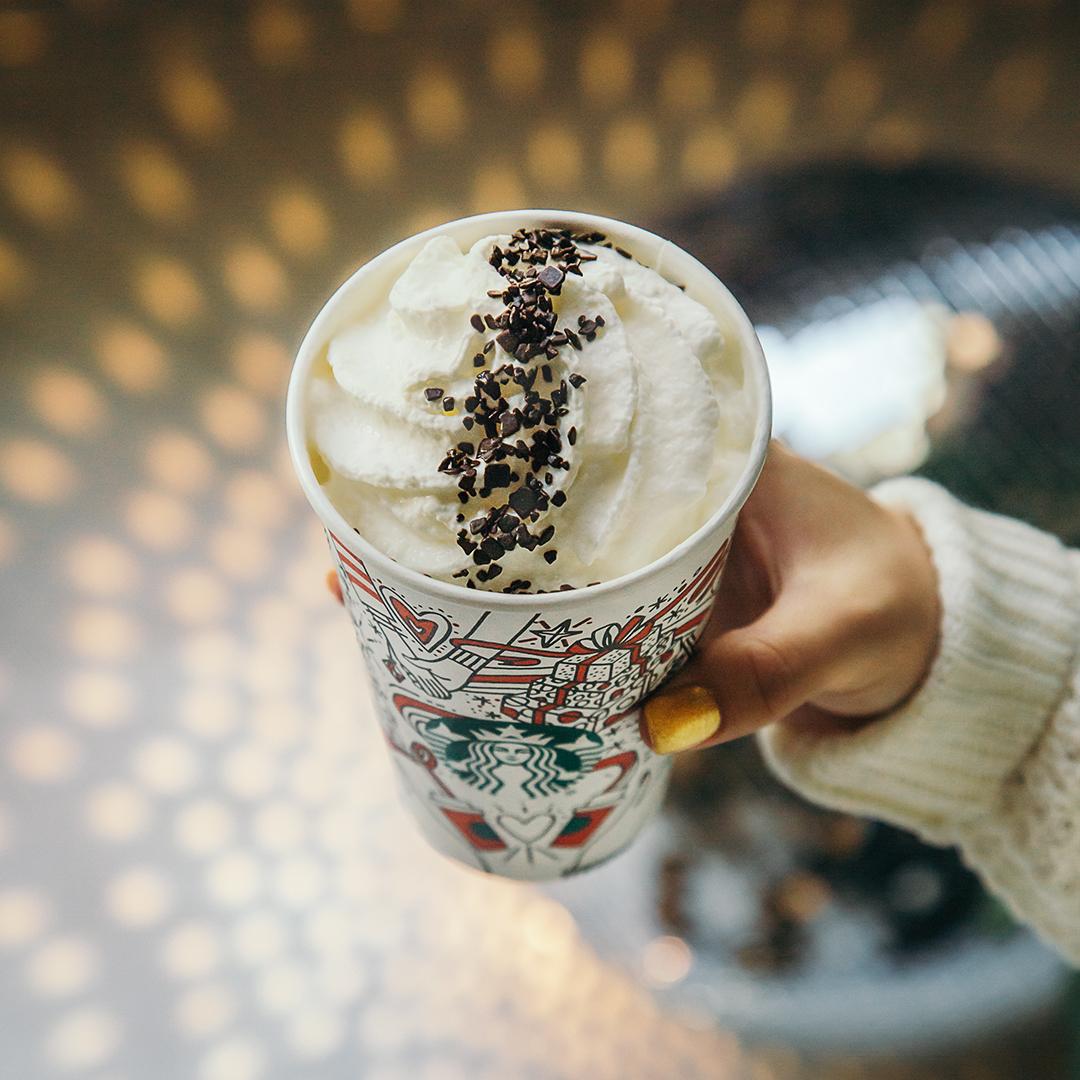 Starbucks Black and White Mocha