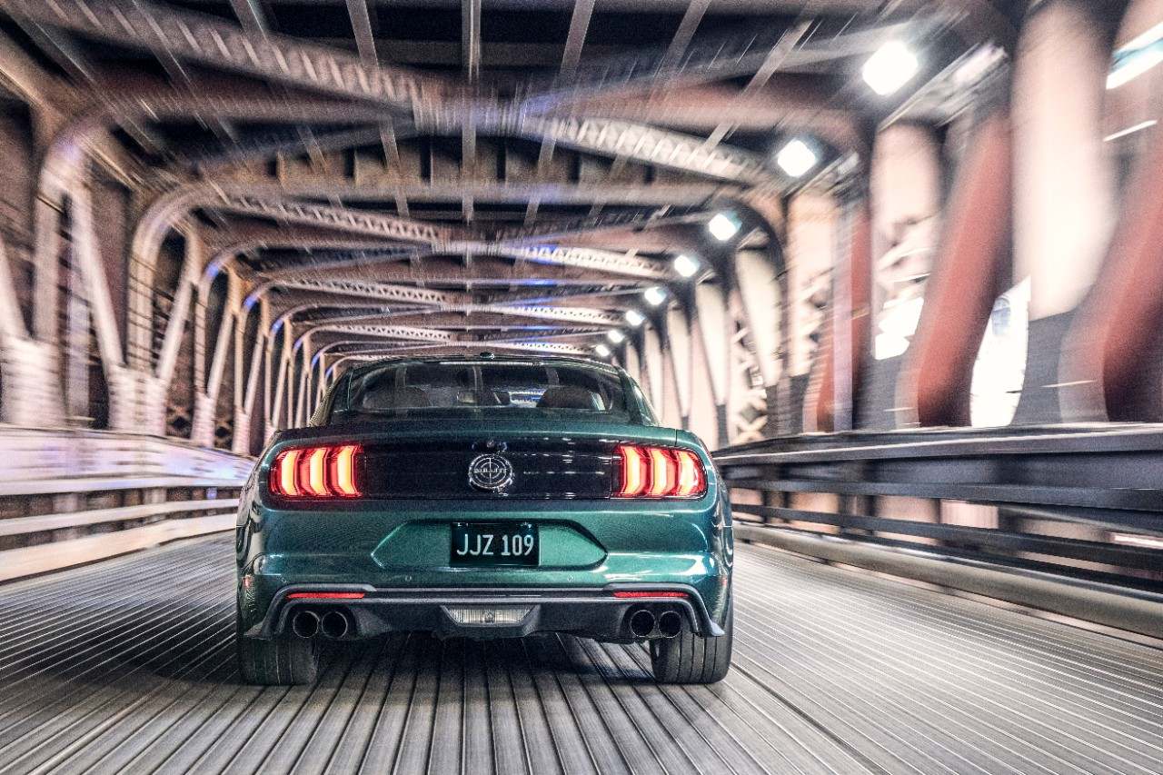 Ford unveiled the 2019 Mustang Bullitt at the 2018 North American International Auto Show in Detroit.