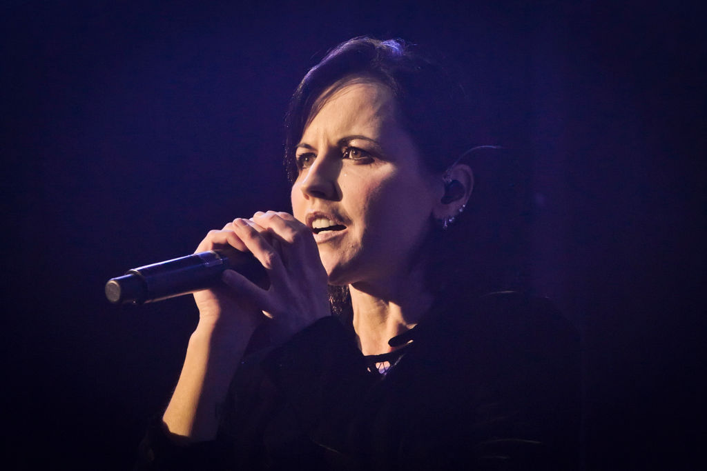 The Cranberries singer Dolores O'Riordan.