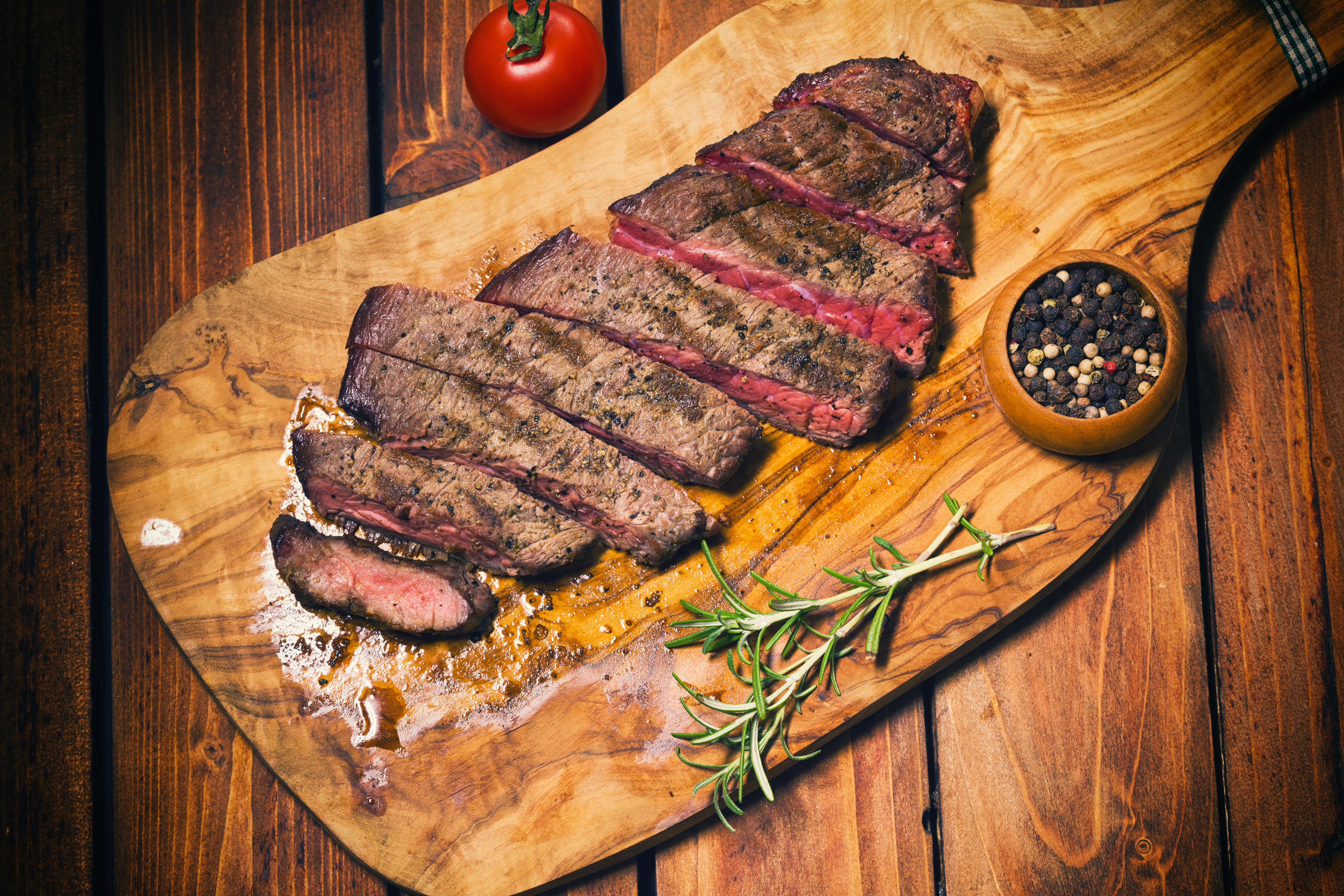 Grilled Juicy Beef Steak
