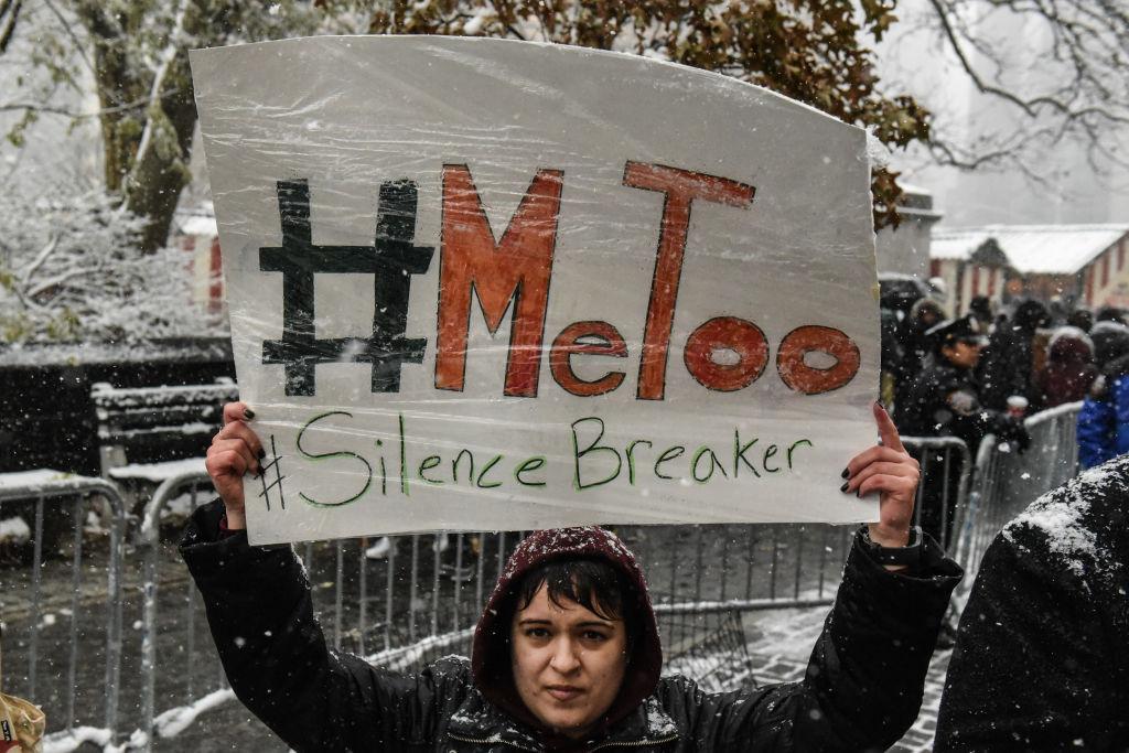 #MeToo Rally Held Outside Of Trump Tower In Manhattan